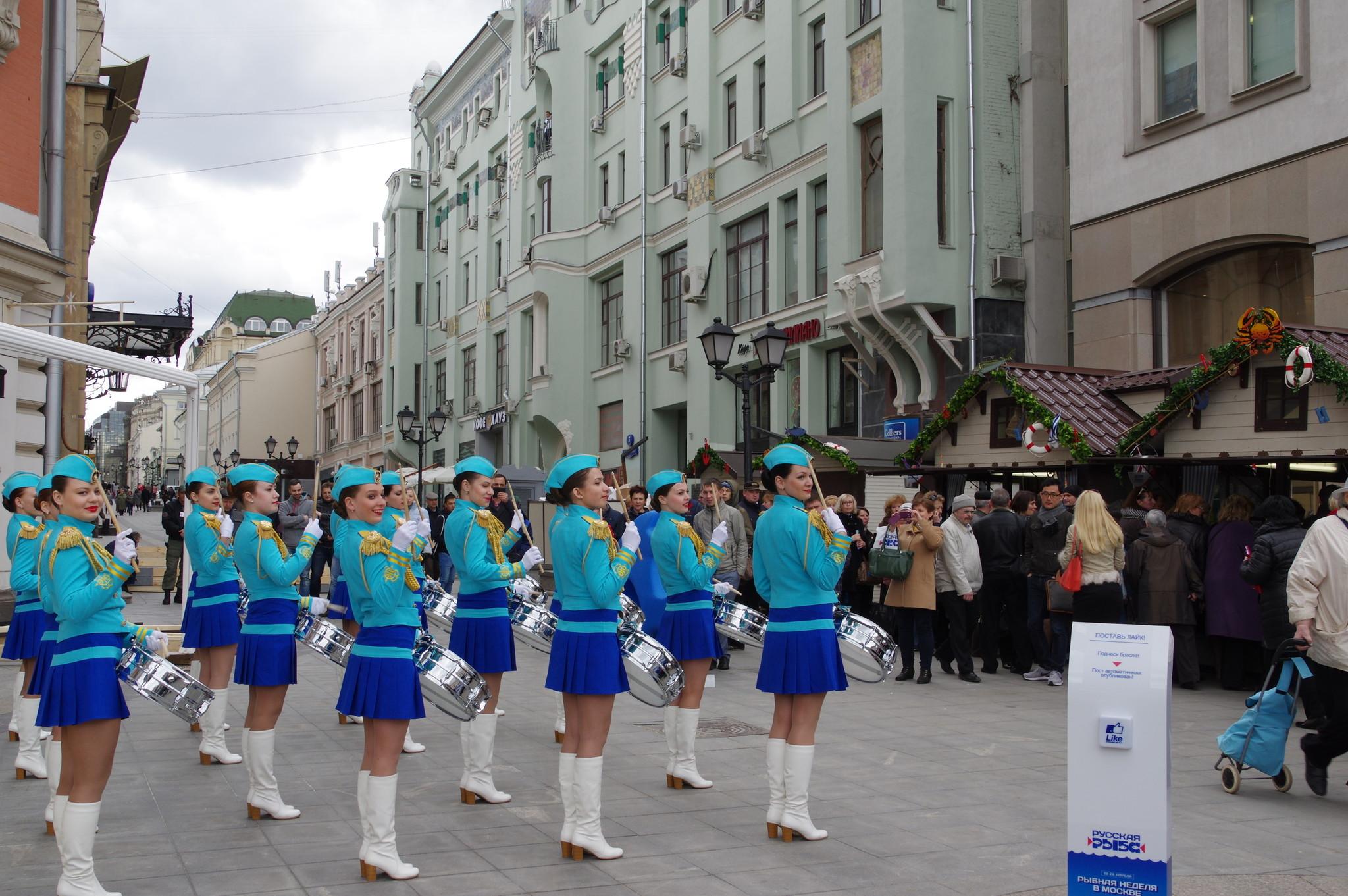 Фестиваль «Рыбная неделя» на Кузнецком мосту
