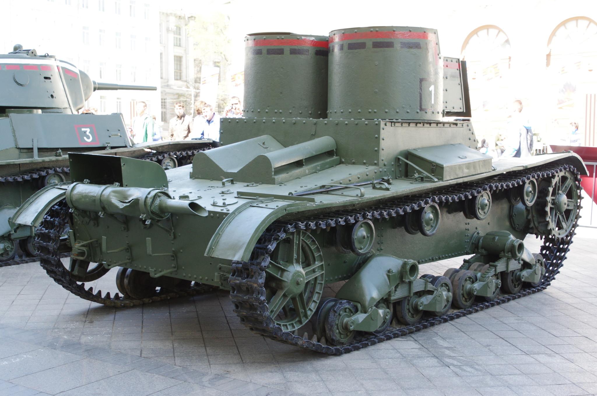 Лёгкий двухбашенный танк Т-26