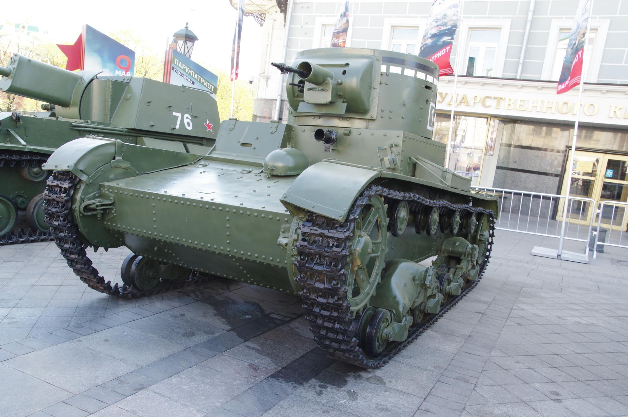 Огнемётный танк ОT-130 на базе танка Т-26
