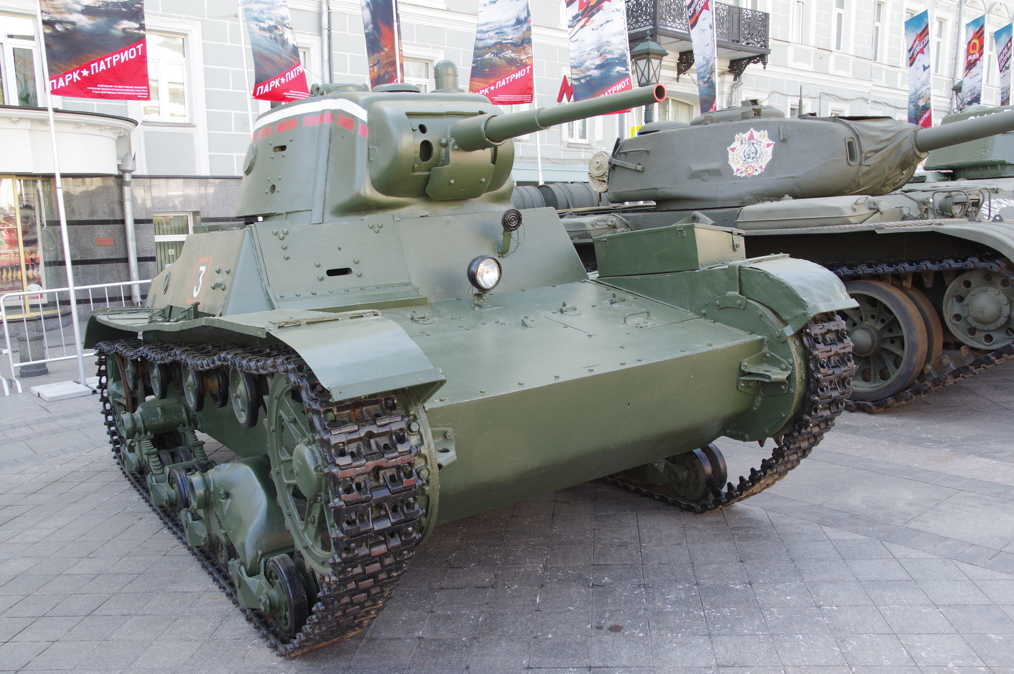 Лёгкий пехотный танк Т-26 образца 1939 года