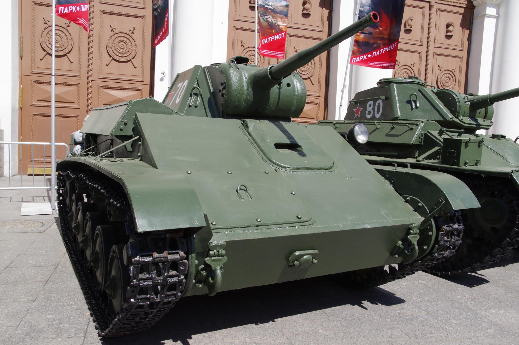 Лёгкий танк Т-70