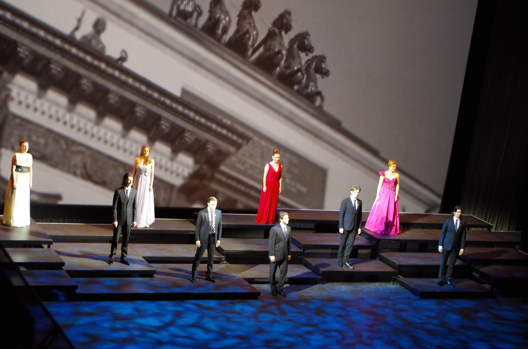 Концерт Молодёжной оперной программы Большого театра посвящённый Дню защитника Отечества