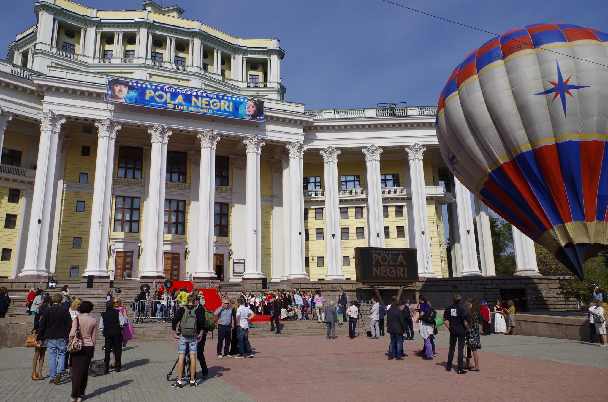 Центральный академический театр Российской армии покажет 17 сентября 2014 года первый в мире 3D-мюзикл
