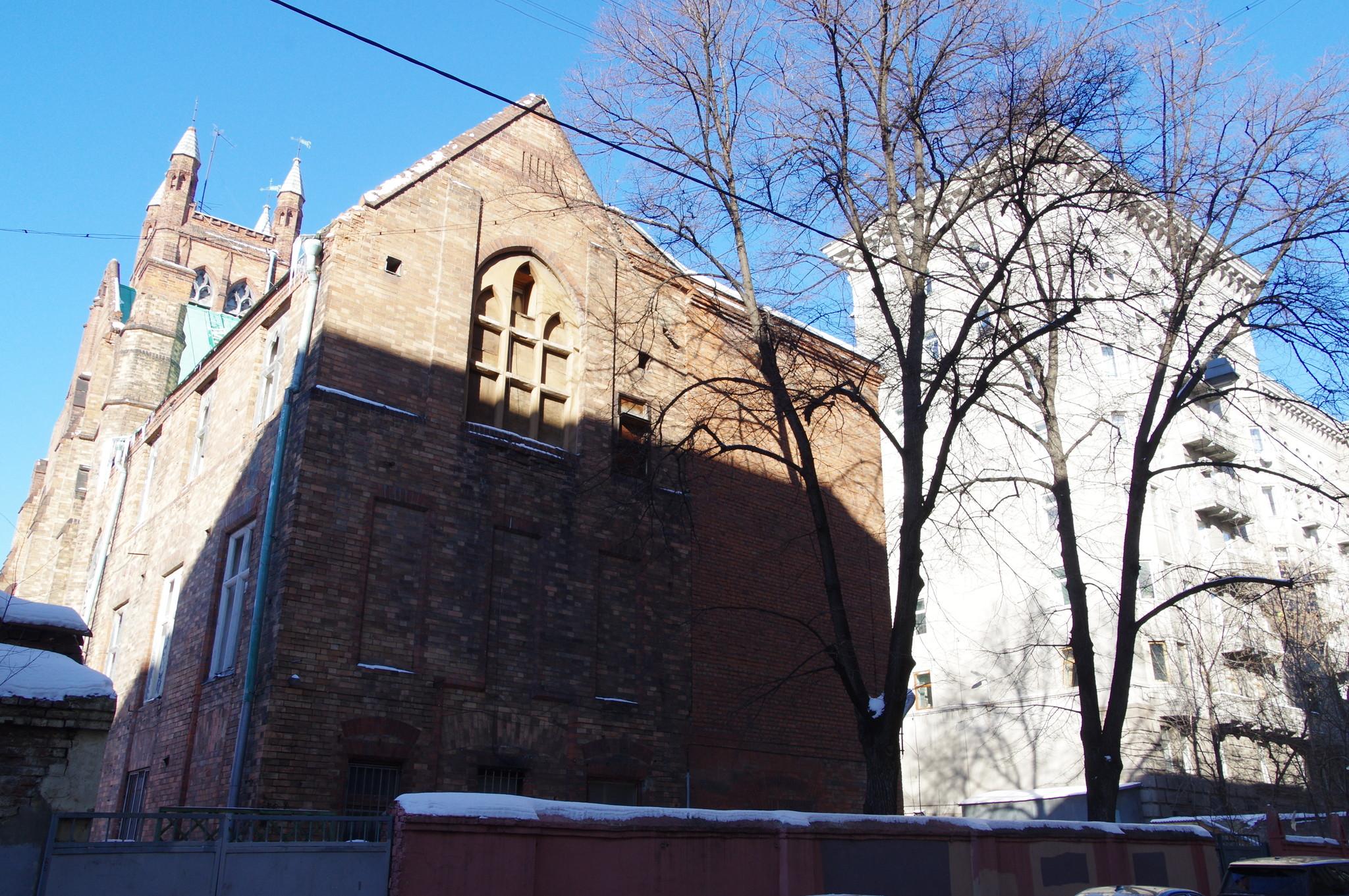 Англиканская церковь Святого Андрея (Вознесенский переулок, дом 8, строение 2)