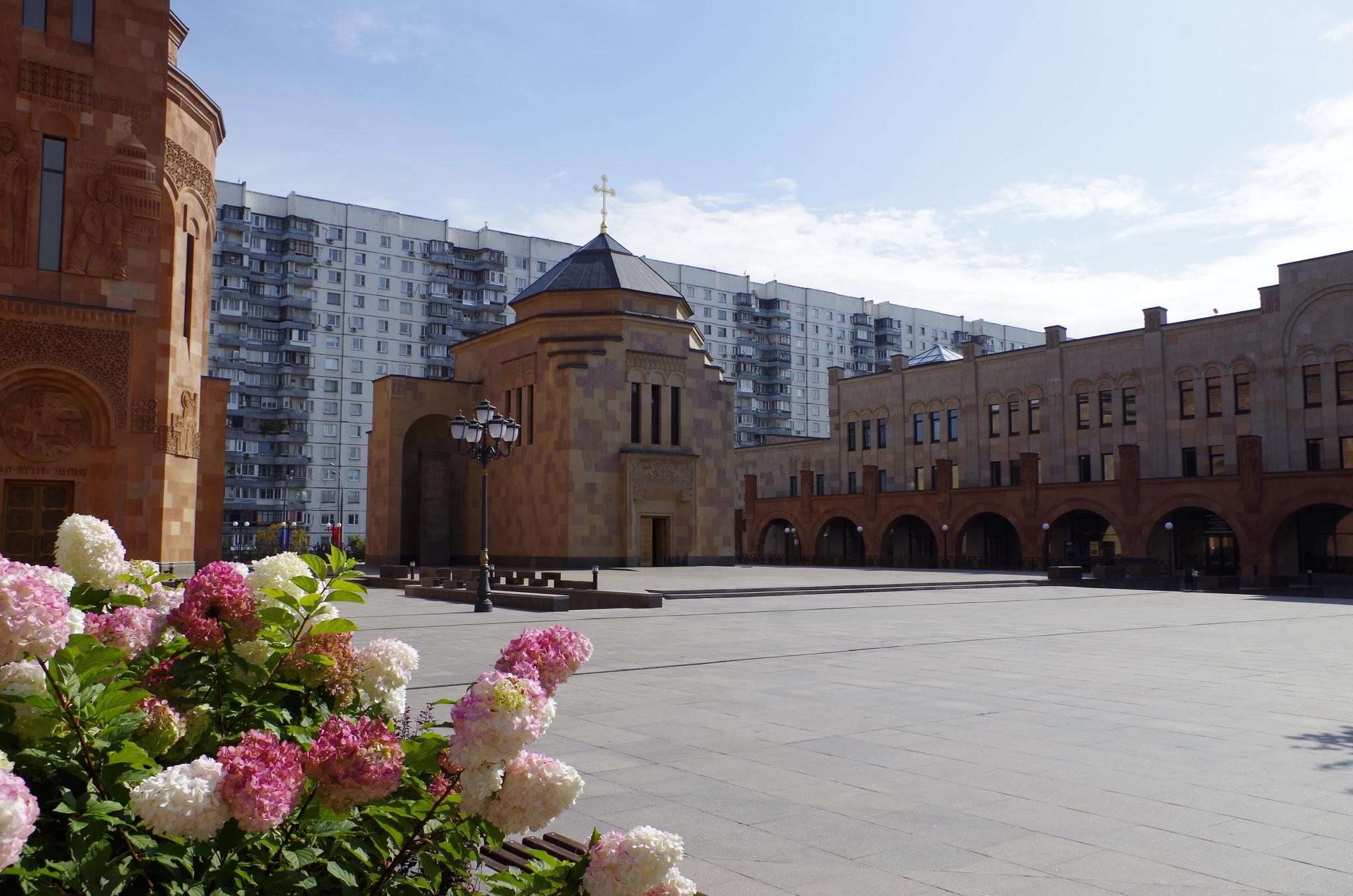Храмовый комплекс Армянской апостольской церкви в Москве (Трифоновская улица, вл. 24)