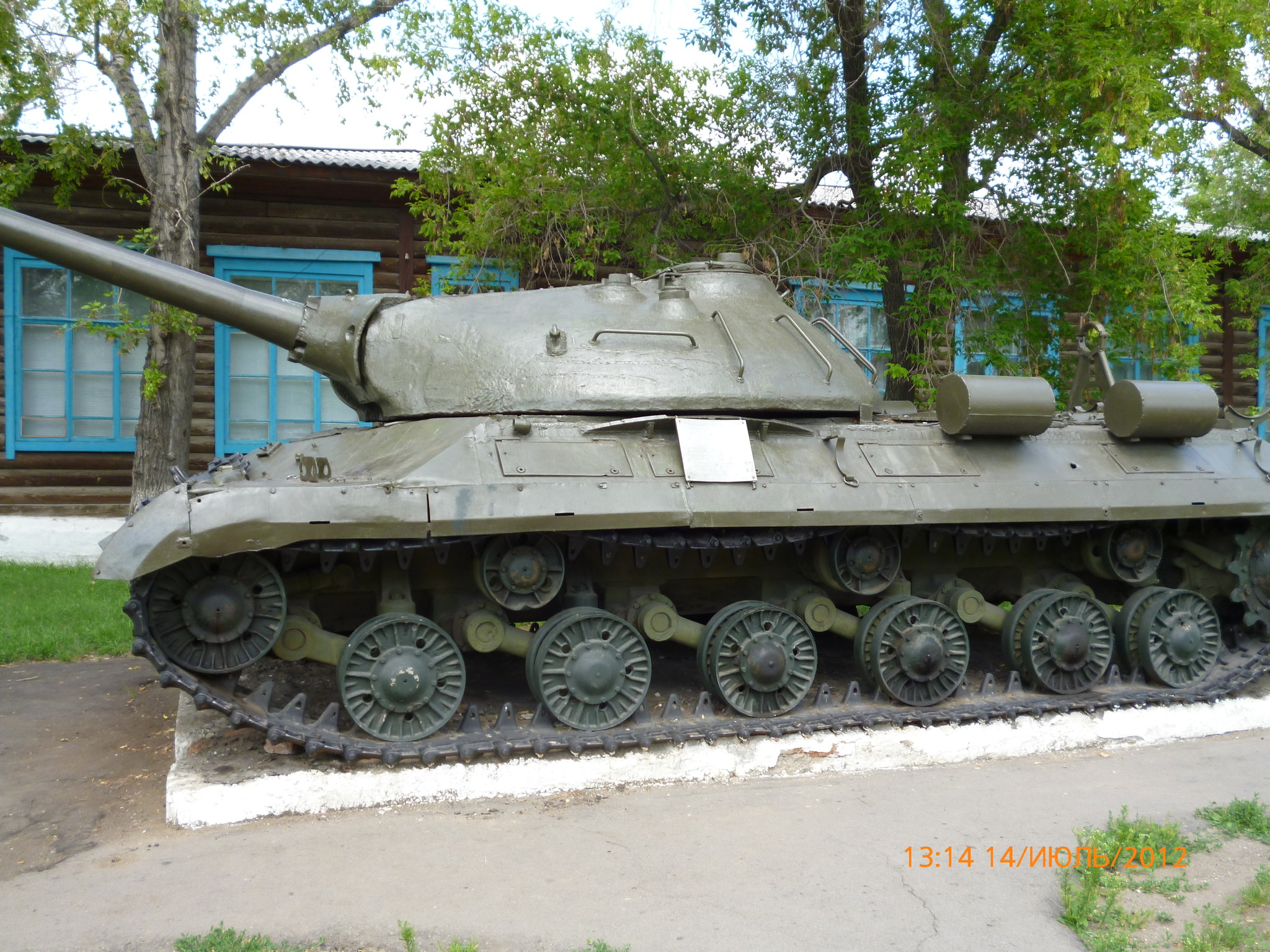 Советский тяжёлый танк ИС-3 (Благовещенка, Алтайский край)