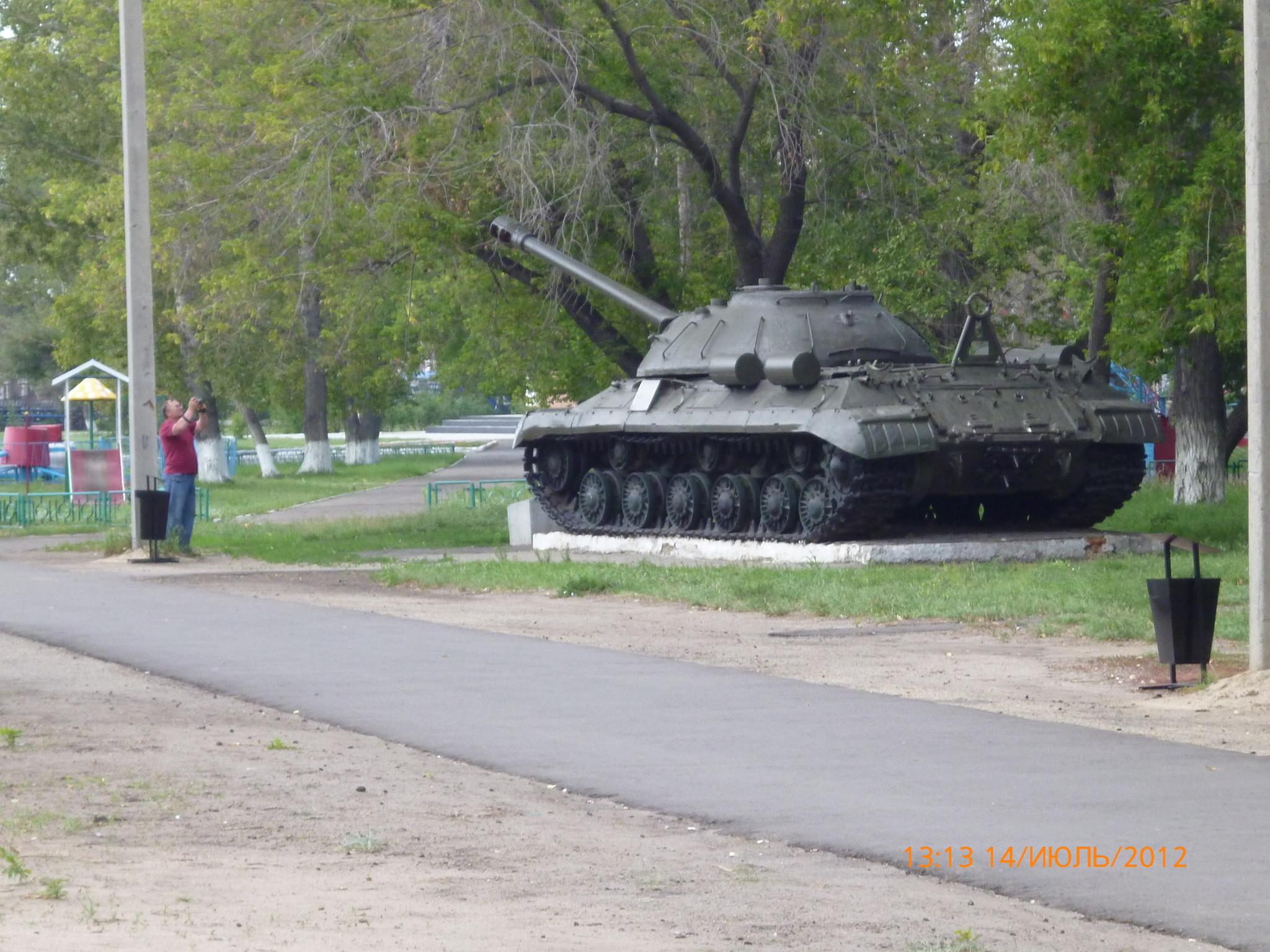 Тяжёлый танк ИС-3 (Благовещенка, Алтайский край)
