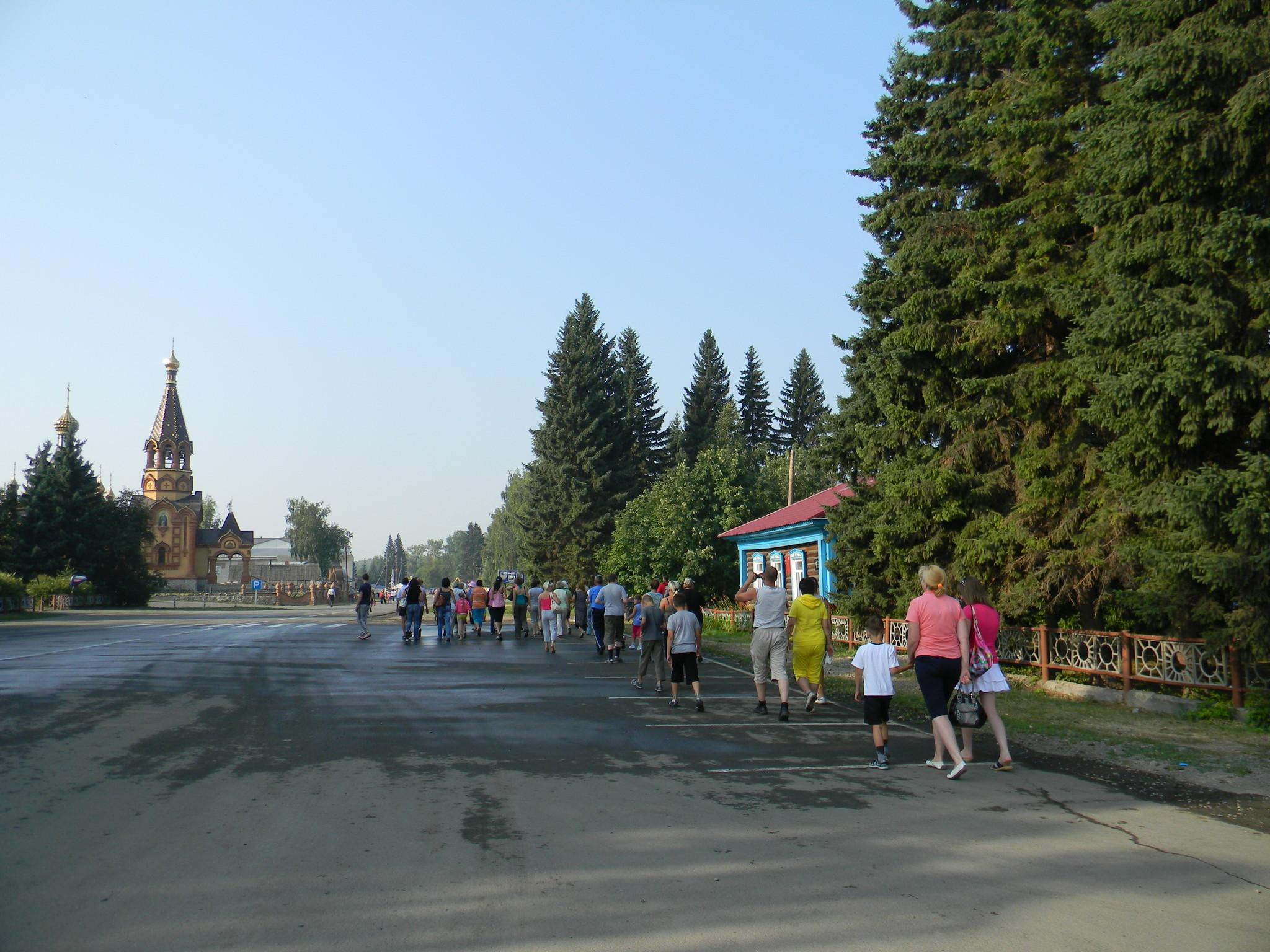 Сростки - село в Бийском районе Алтайского края