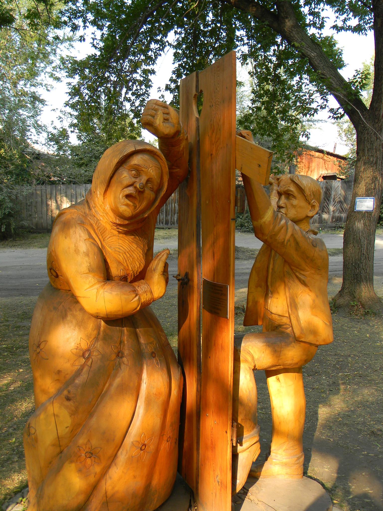 Скульптурная композиция по рассказу В.М. Шукшина
