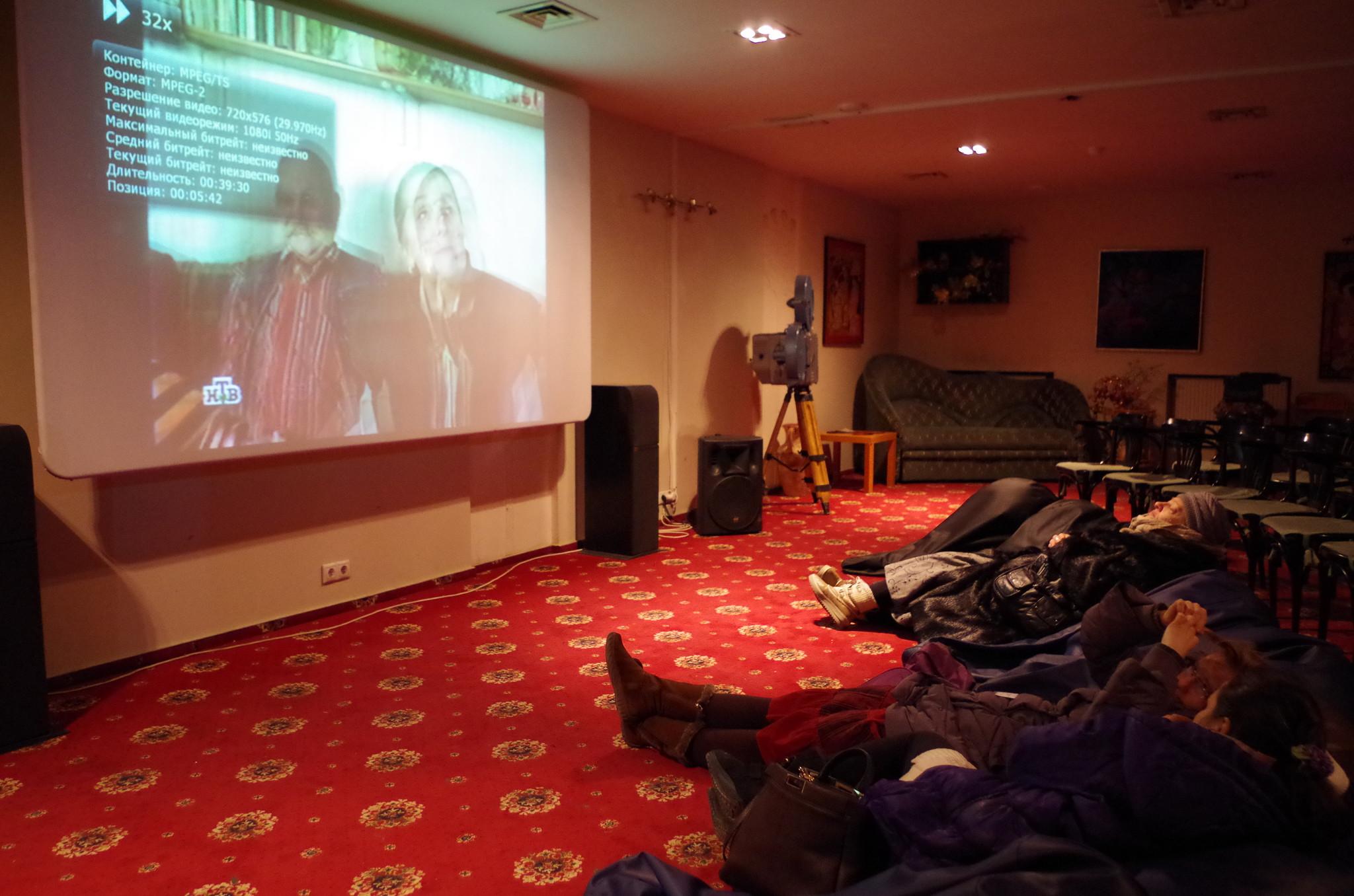 Зелёный зал кинотеатра «Художественный»