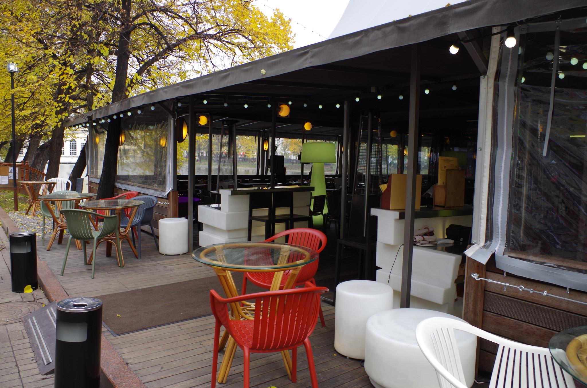 Кафе «Шатёр» (Чистопрудный бульвар 12а, строение 6)