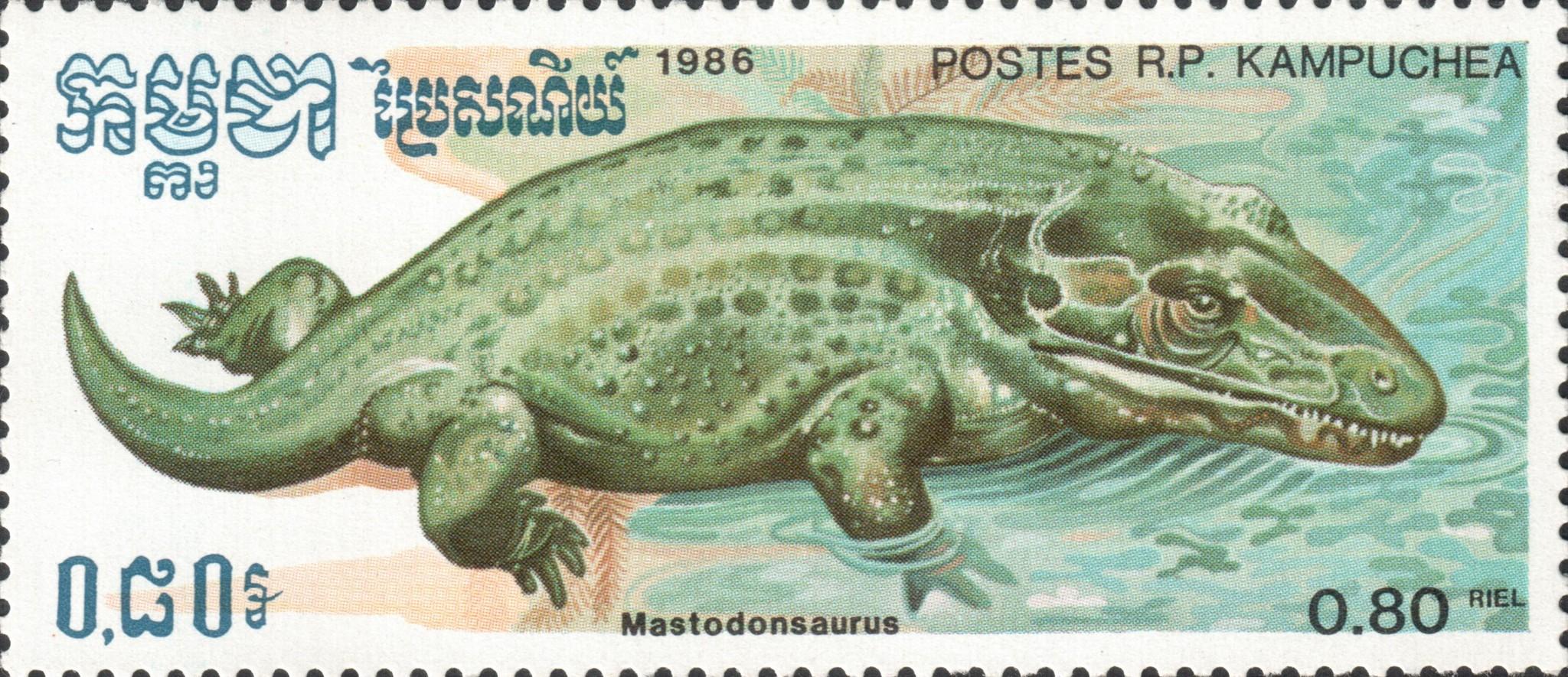 Мастодонзавр (Mastodonsaurus)