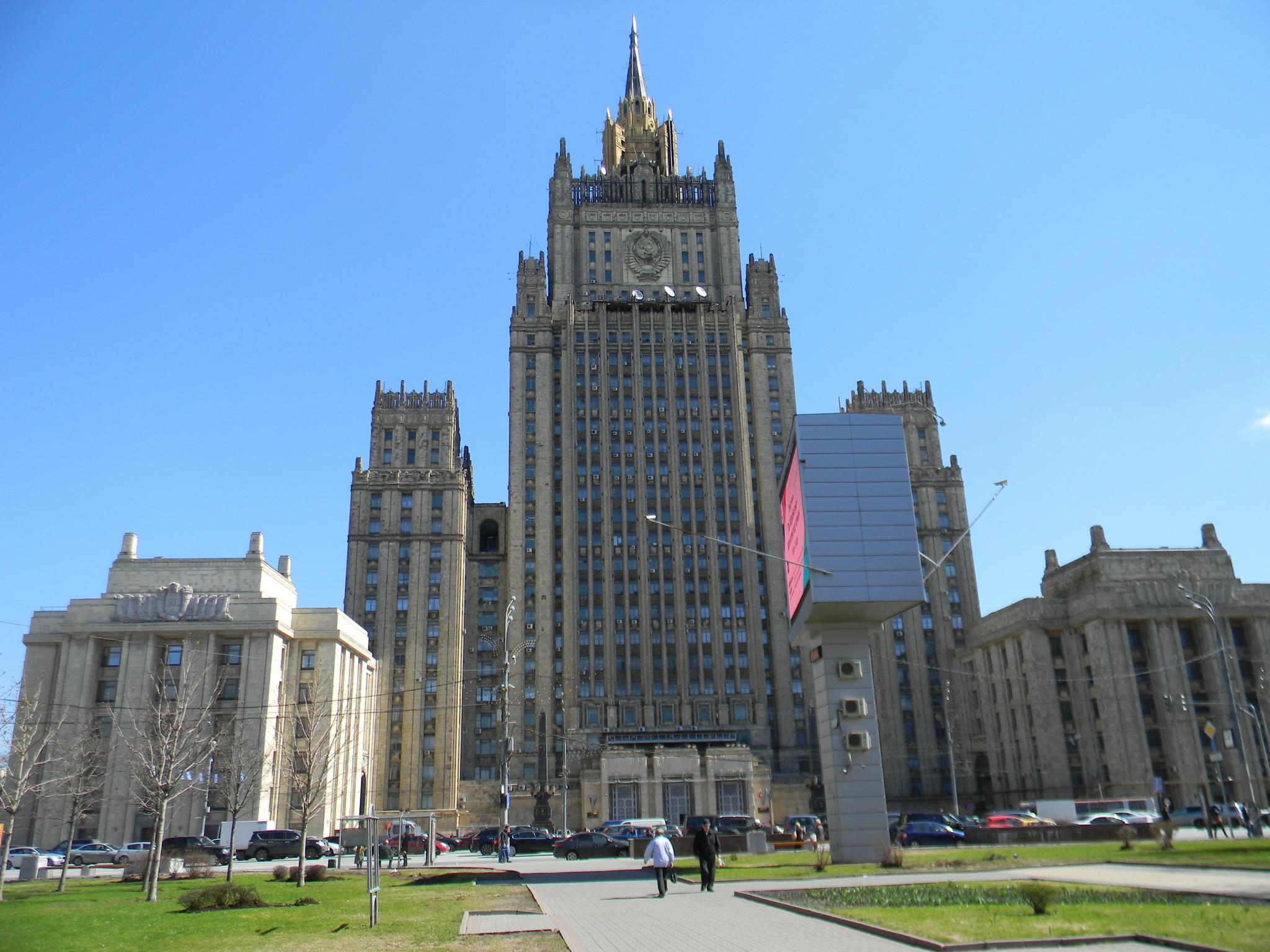 Здание Министерства иностранных дел Российской Федерации (Смоленская-Сенная площадь, дом 32/34)