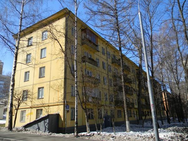 Улица Марии Ульяновой, дом 25 (3-я улица Строителей, дом 25)