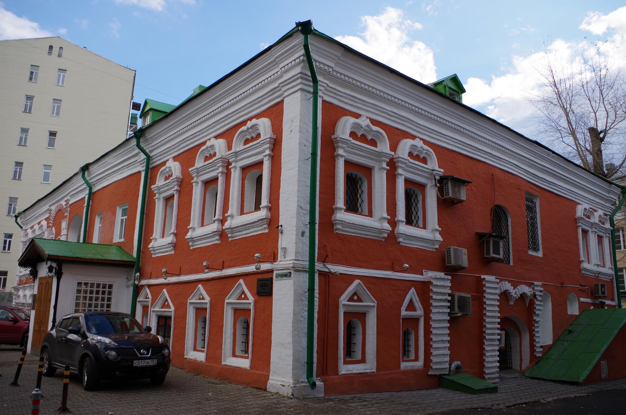 Палаты Сверчковых (Сверчков переулок, дом 8)