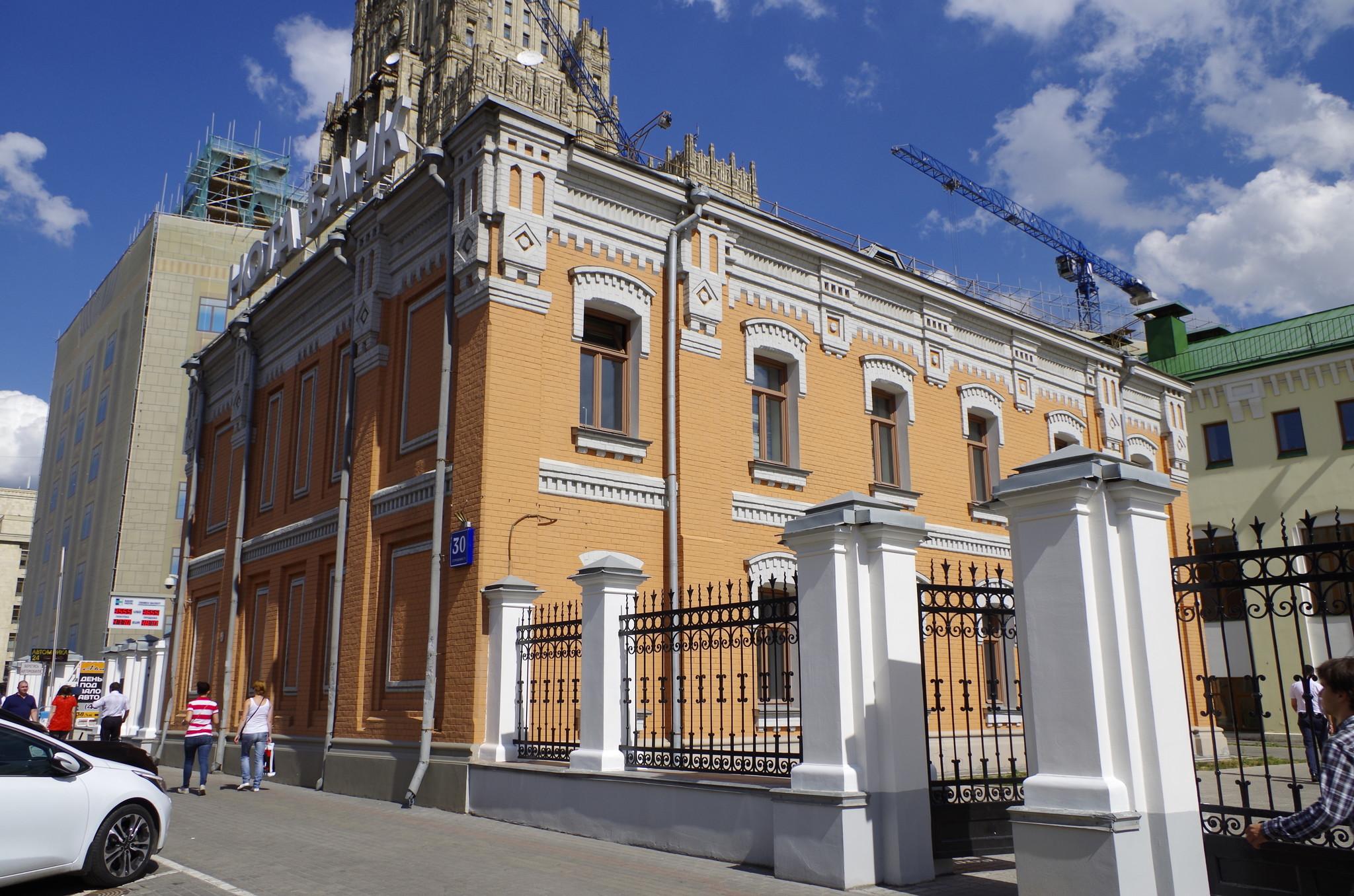 Смоленская-Сенная площадь, дом 30, строение 3