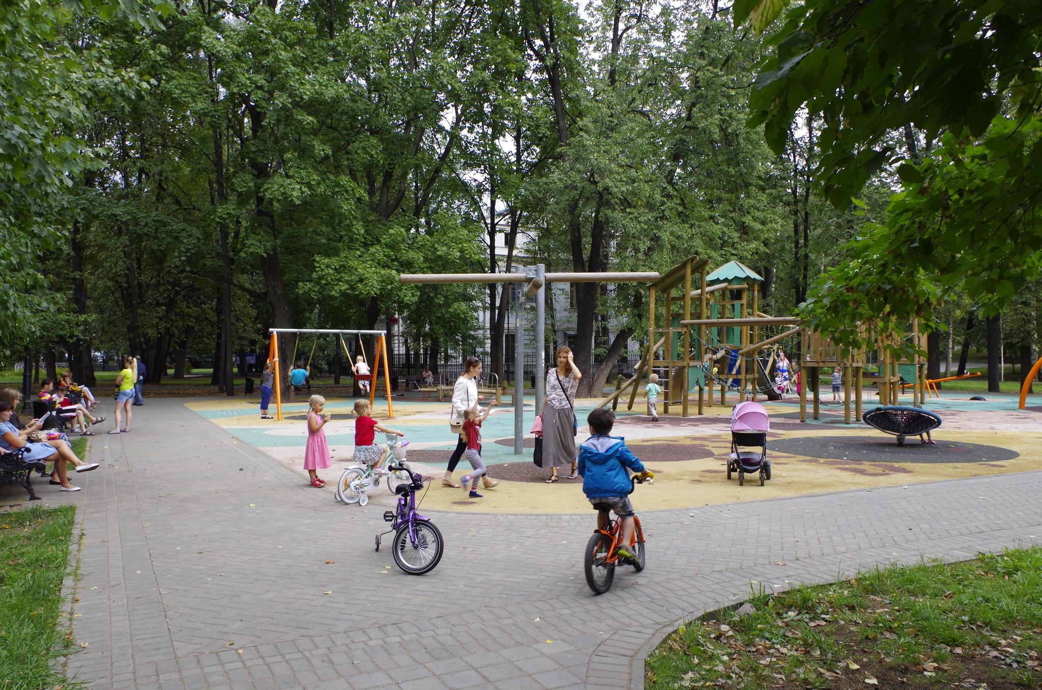 Парк имени Воровского (Парк у кинотеатра «Варшава»)