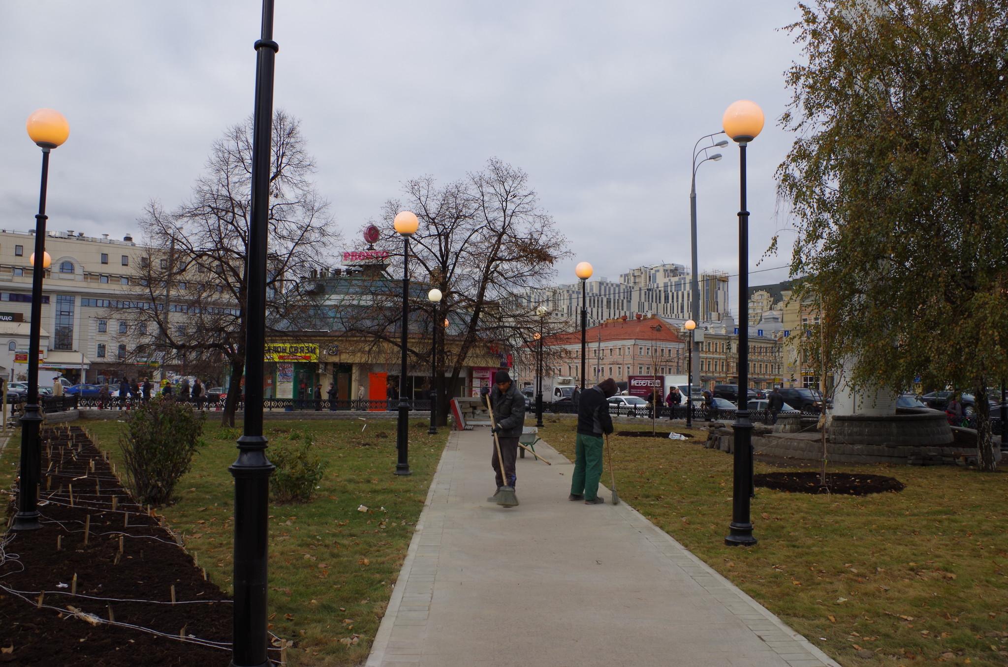 Сквер на Сухаревской площади