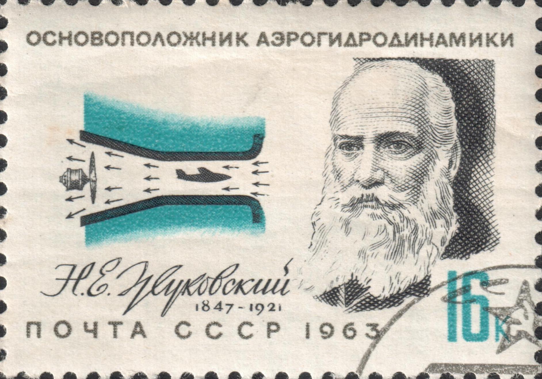Основоположник аэрогидродинамики Николай Егорович Жуковский