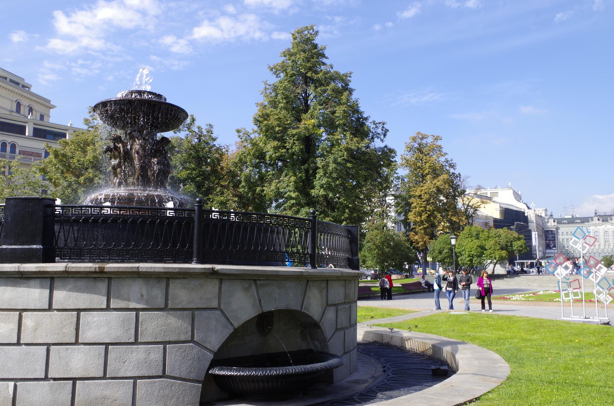 Водоразборный фонтан — старейший фонтан России