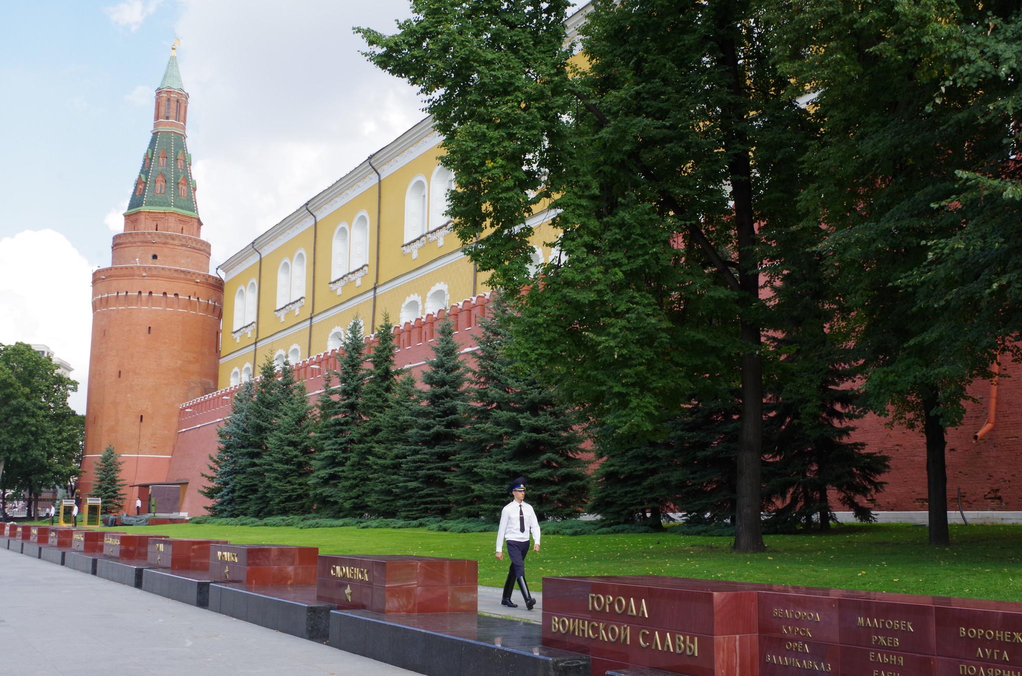 У Московского Кремля