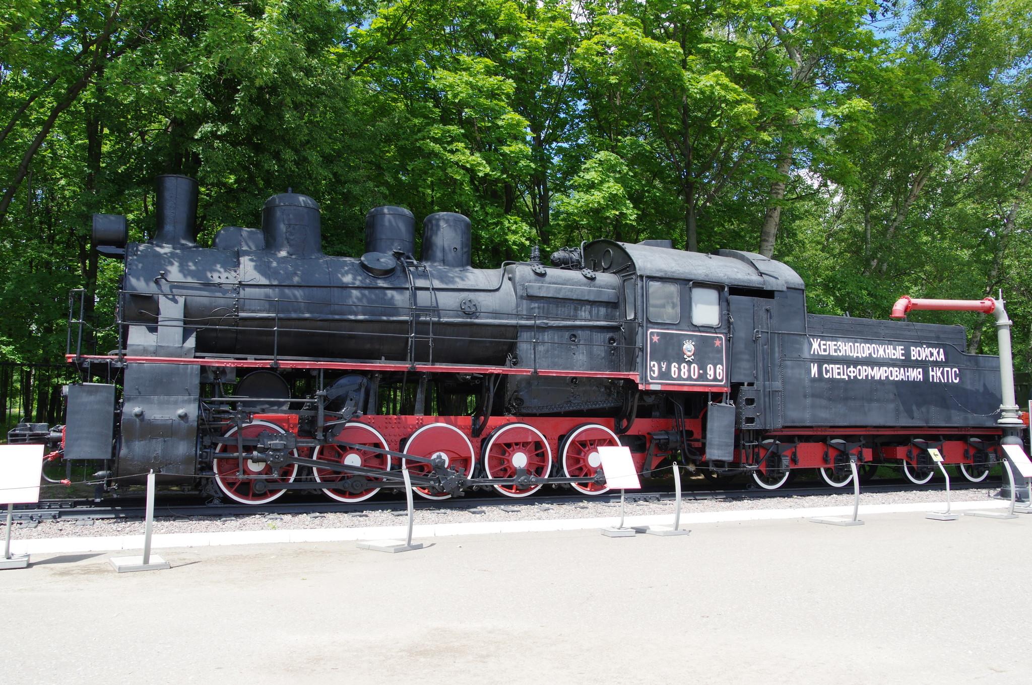 Паровоз серии ЭУ № 680-96