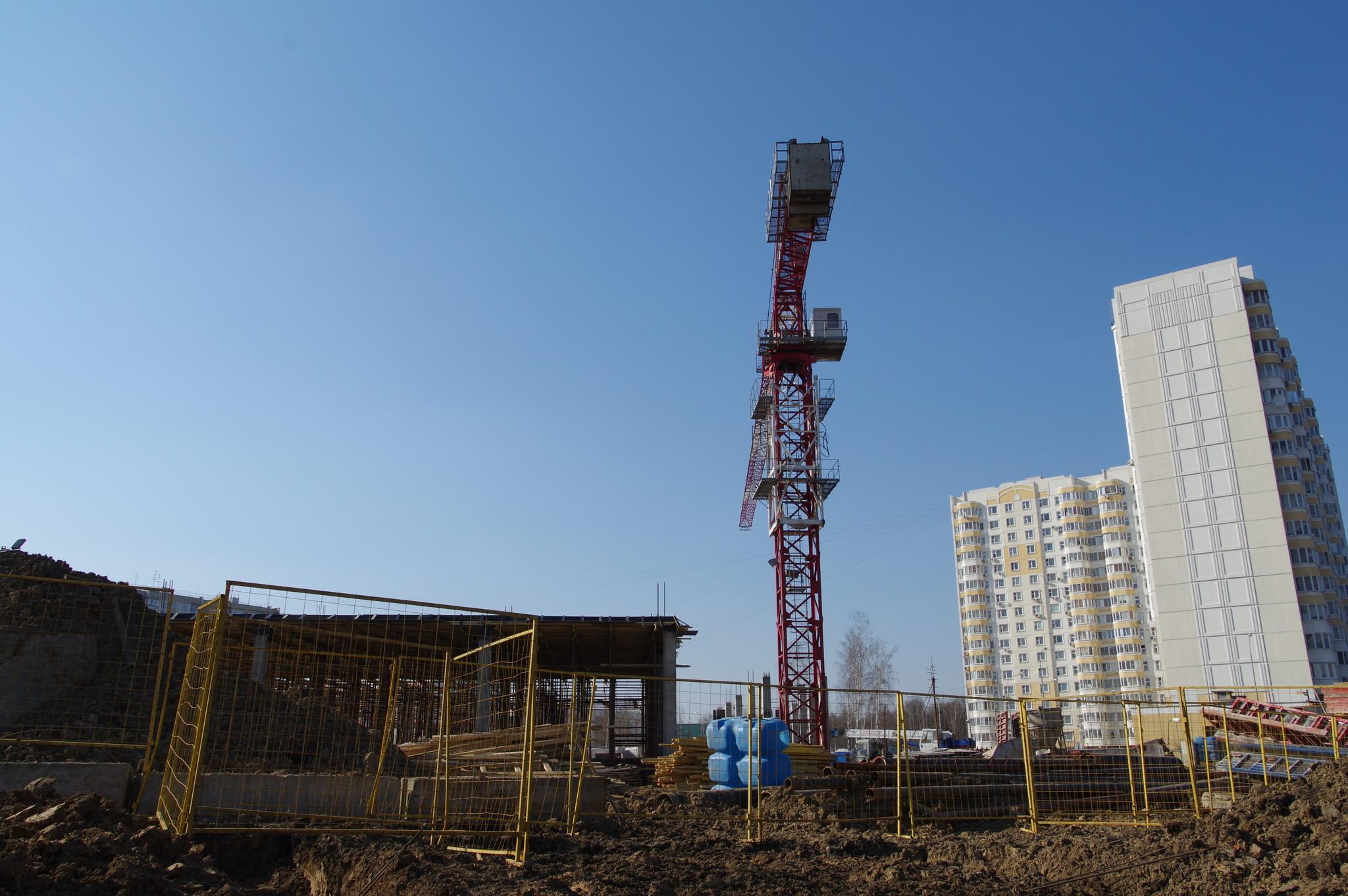 Строительство нового здания подстанции скорой помощи в 4-м микрорайоне Северного