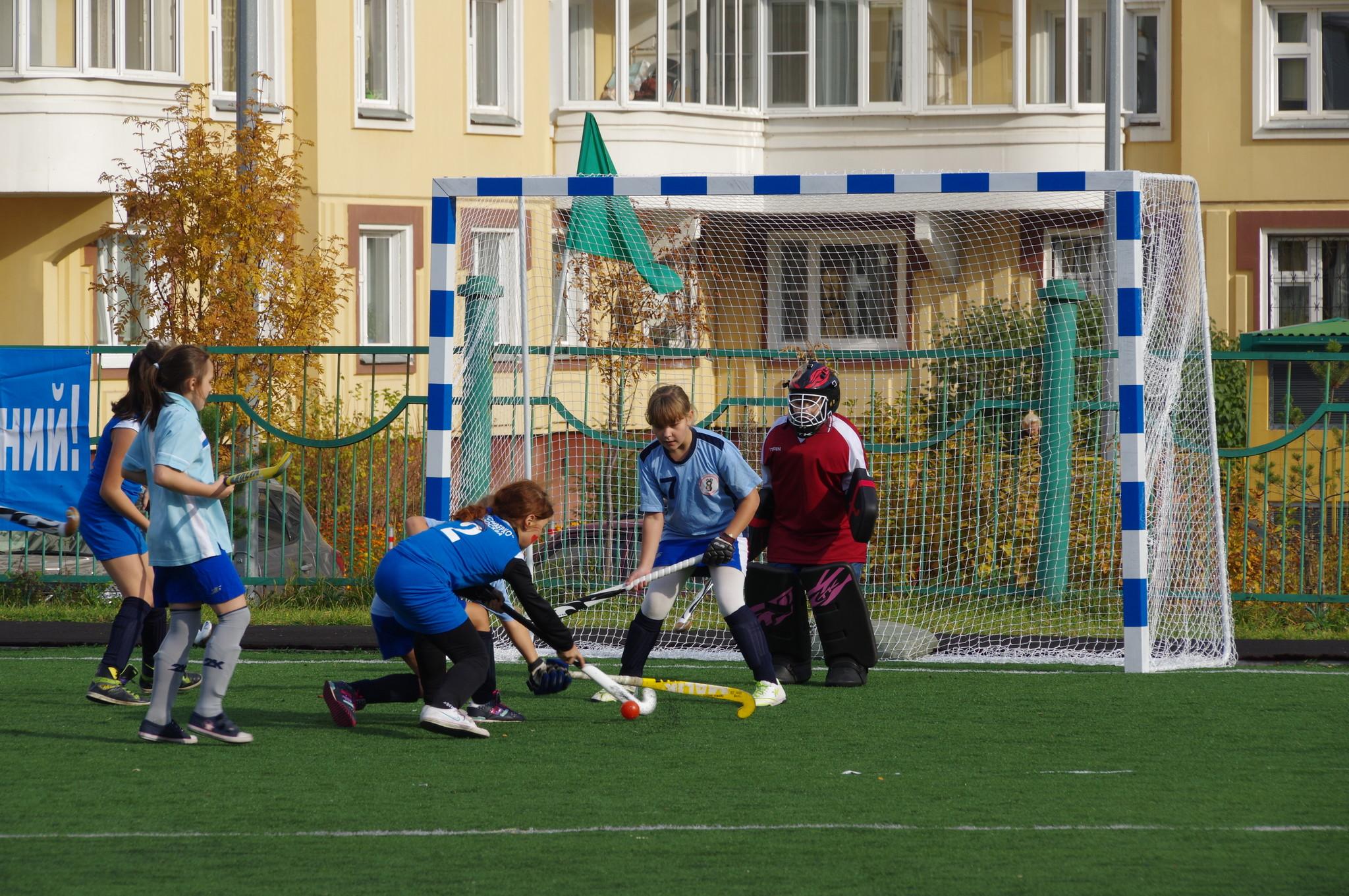 I-е открытое первенство района Северный СВАО города Москвы по хоккею на траве