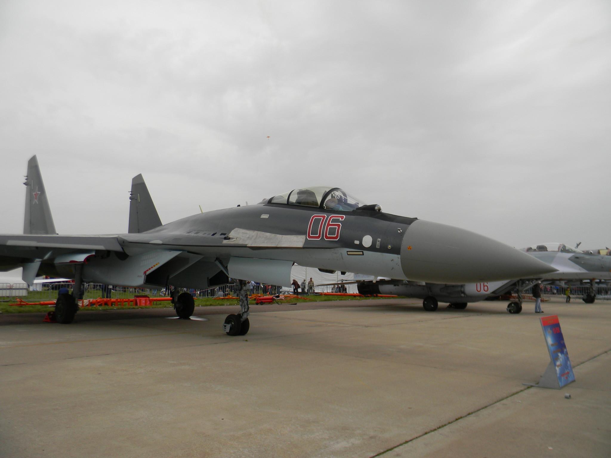 Модернизированный Су-35С для ВВС России