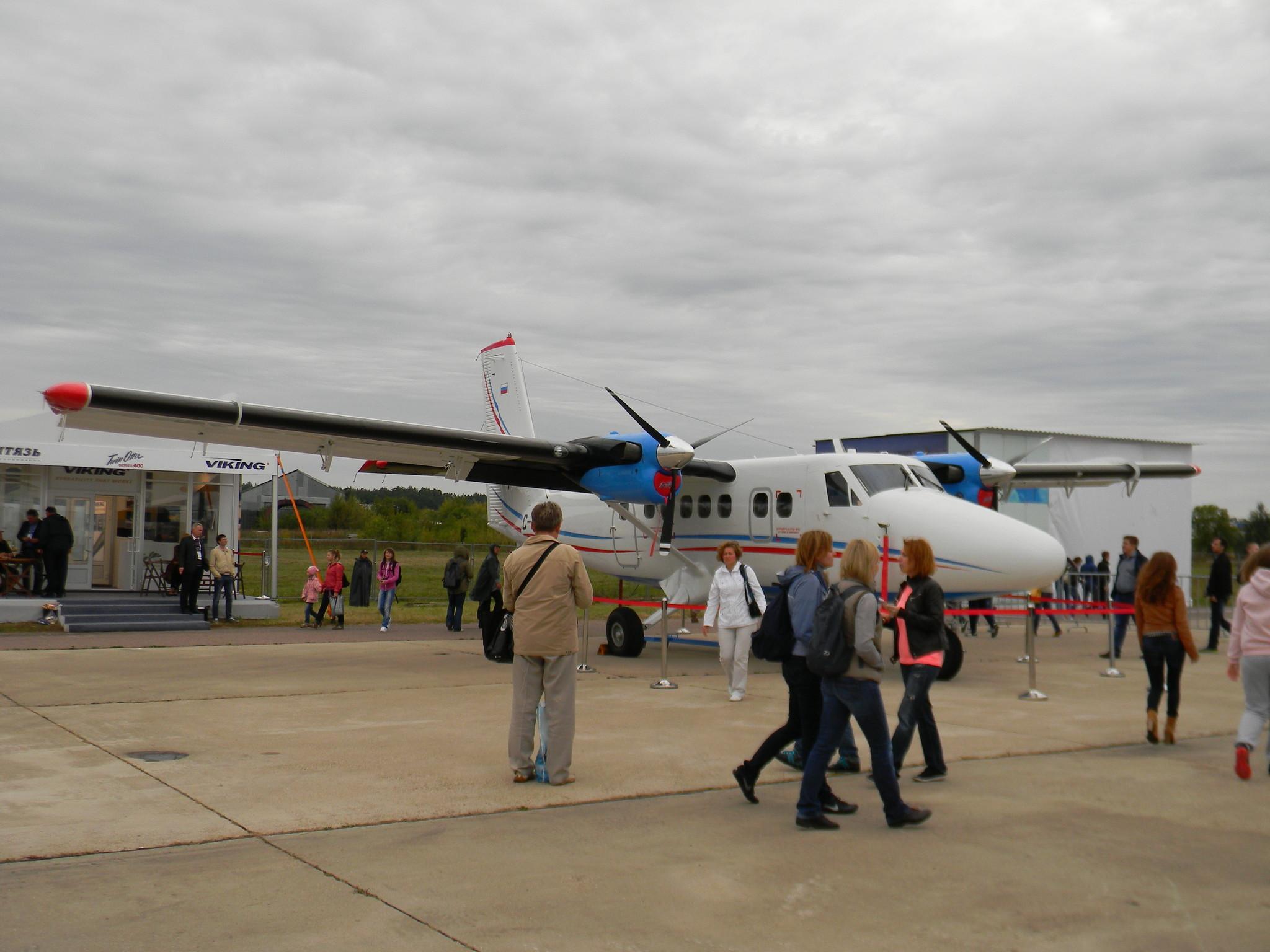 Самолёт короткого взлёта и посадки DHC-6 Twin Otter Series 400