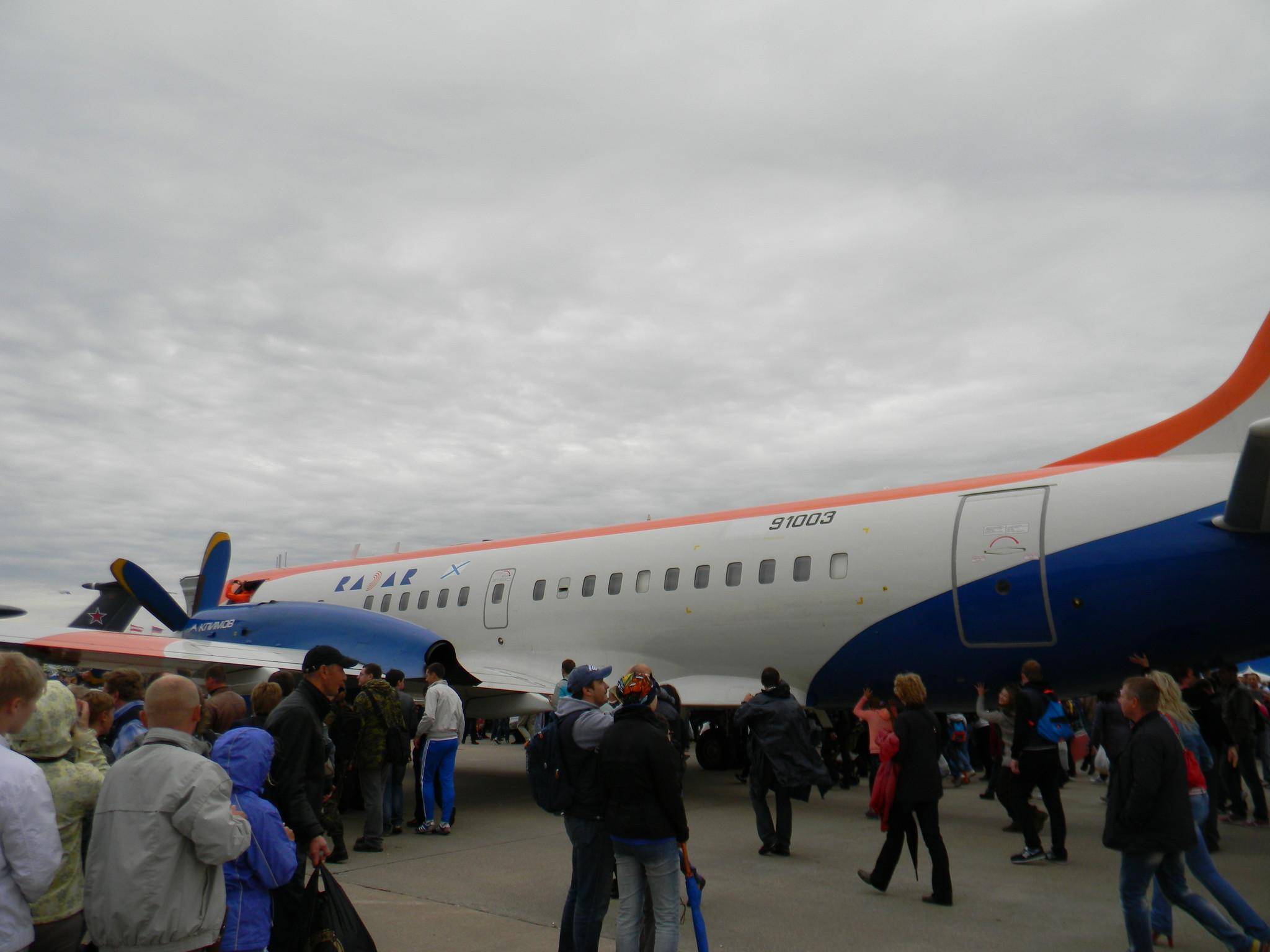 Турбовинтовой пассажирский региональный самолёт Ил-114