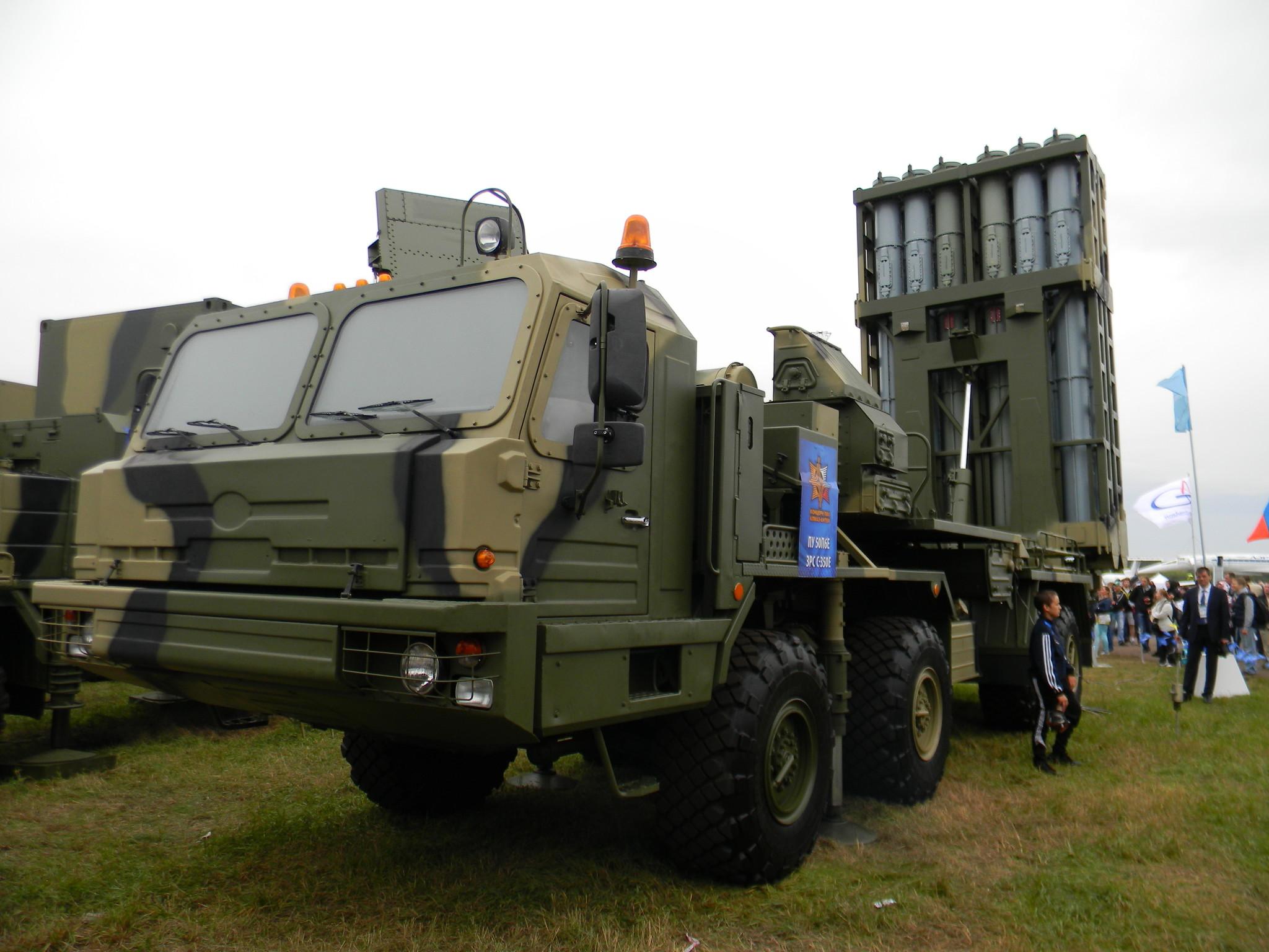 Пусковая установка 50П6Е ЗРС С-350Е