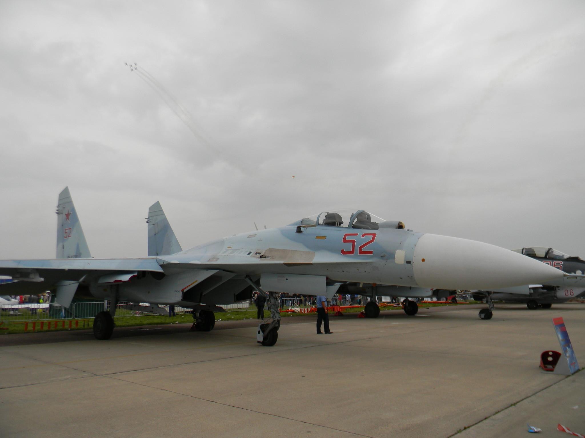 Обои многоцелевой, двухместный, Су-30м2, истребитель. Авиация foto 17