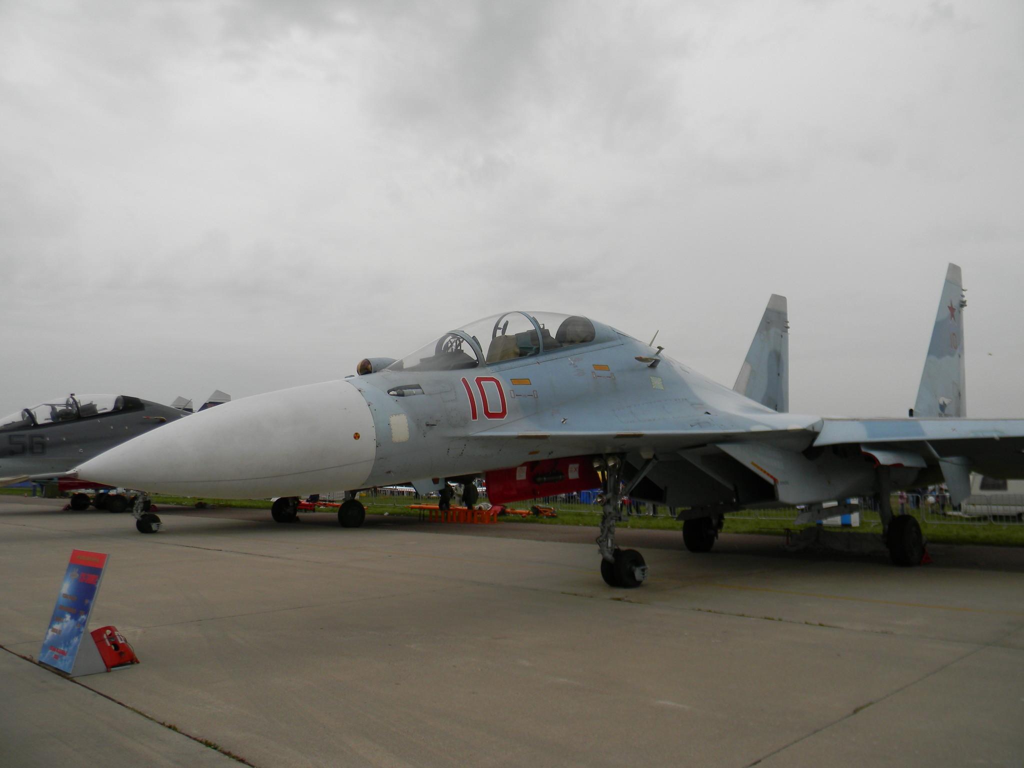 Су-30М2 - двухместный многоцелевой истребитель с большой дальностью полёта