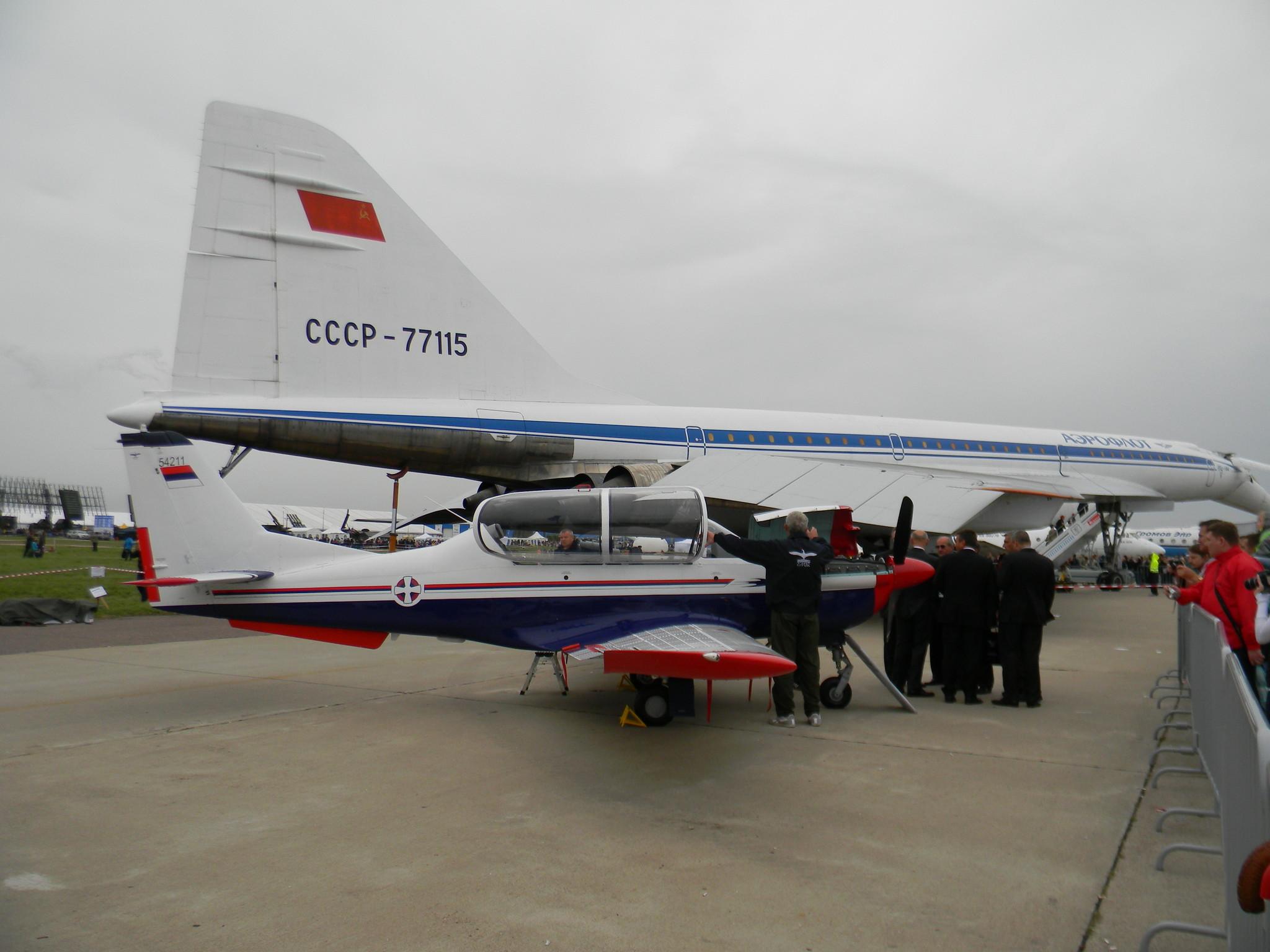 «Ласта-95» — сербский поршневой учебно-боевой самолёт, выпускающийся компанией Утва