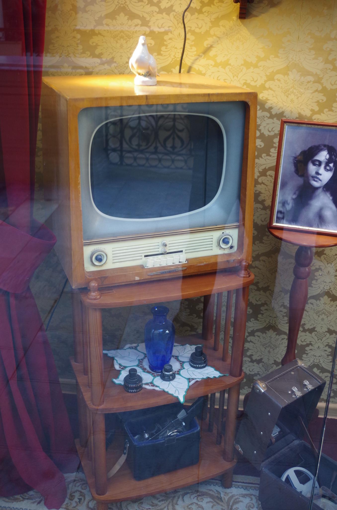 Телевизор в ГУМе