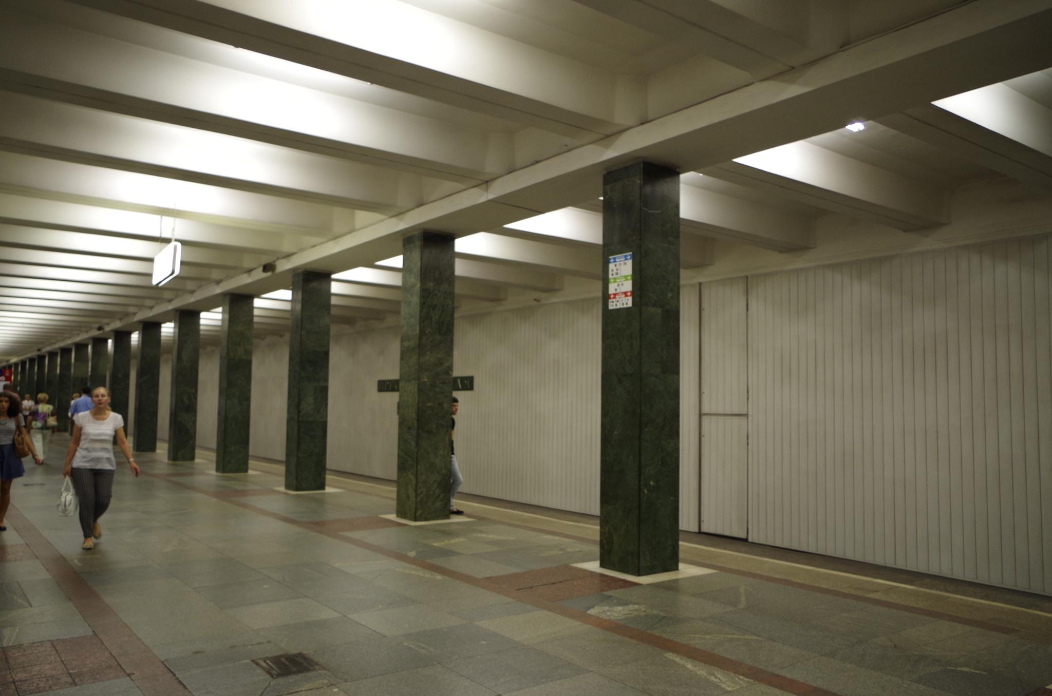 Станция «Преображенская площадь» Сокольнической линии Московского метрополитена