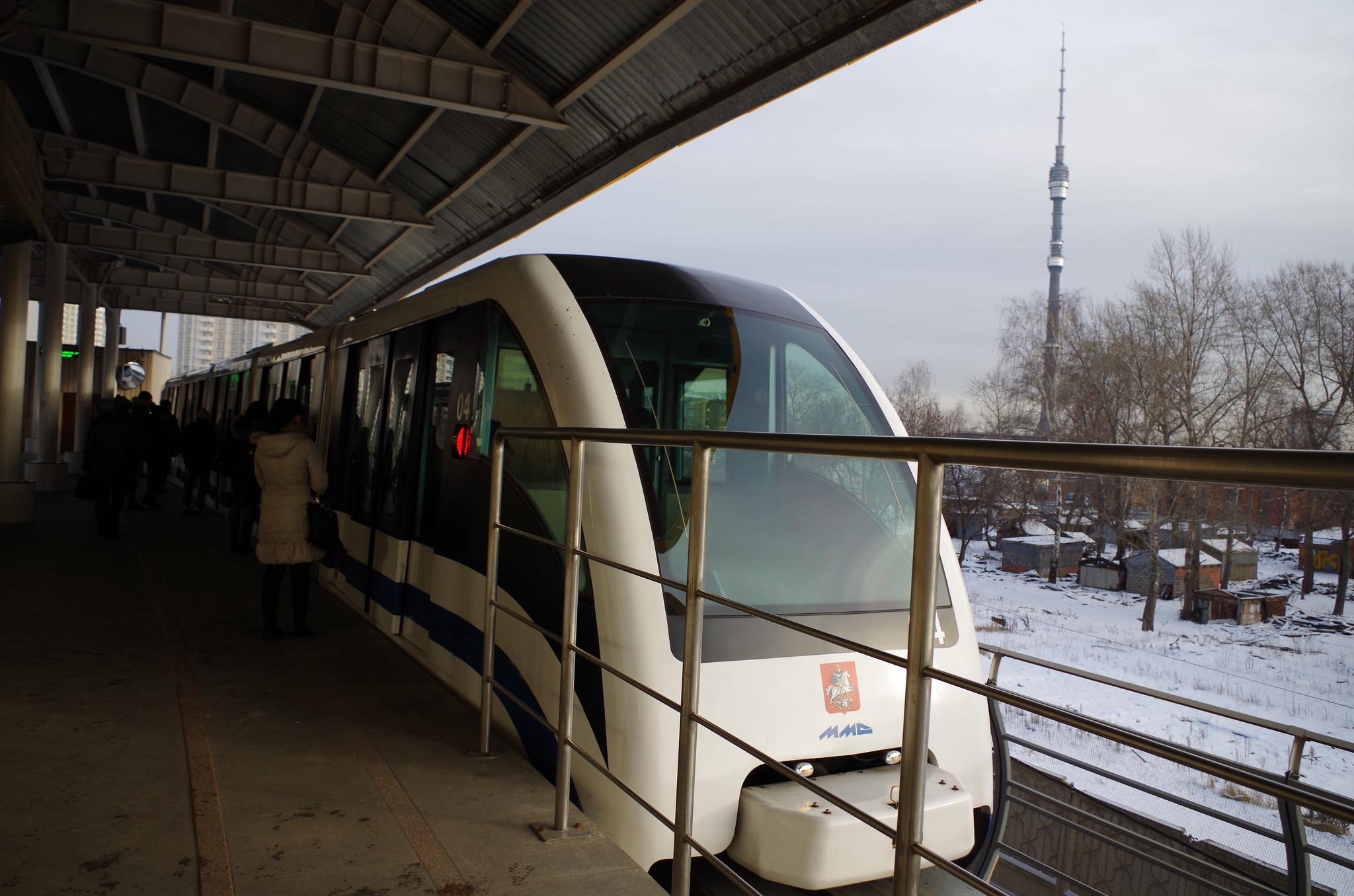 Монорельсовая транспортная система московского метрополитена