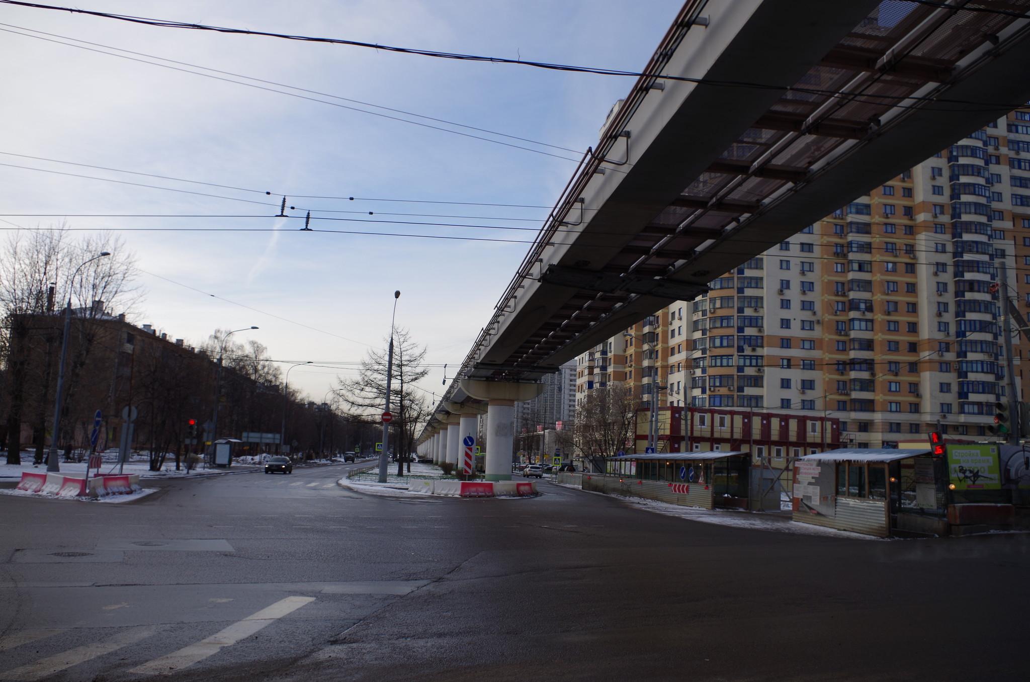 Строительство станции метро «Фонвизинская»
