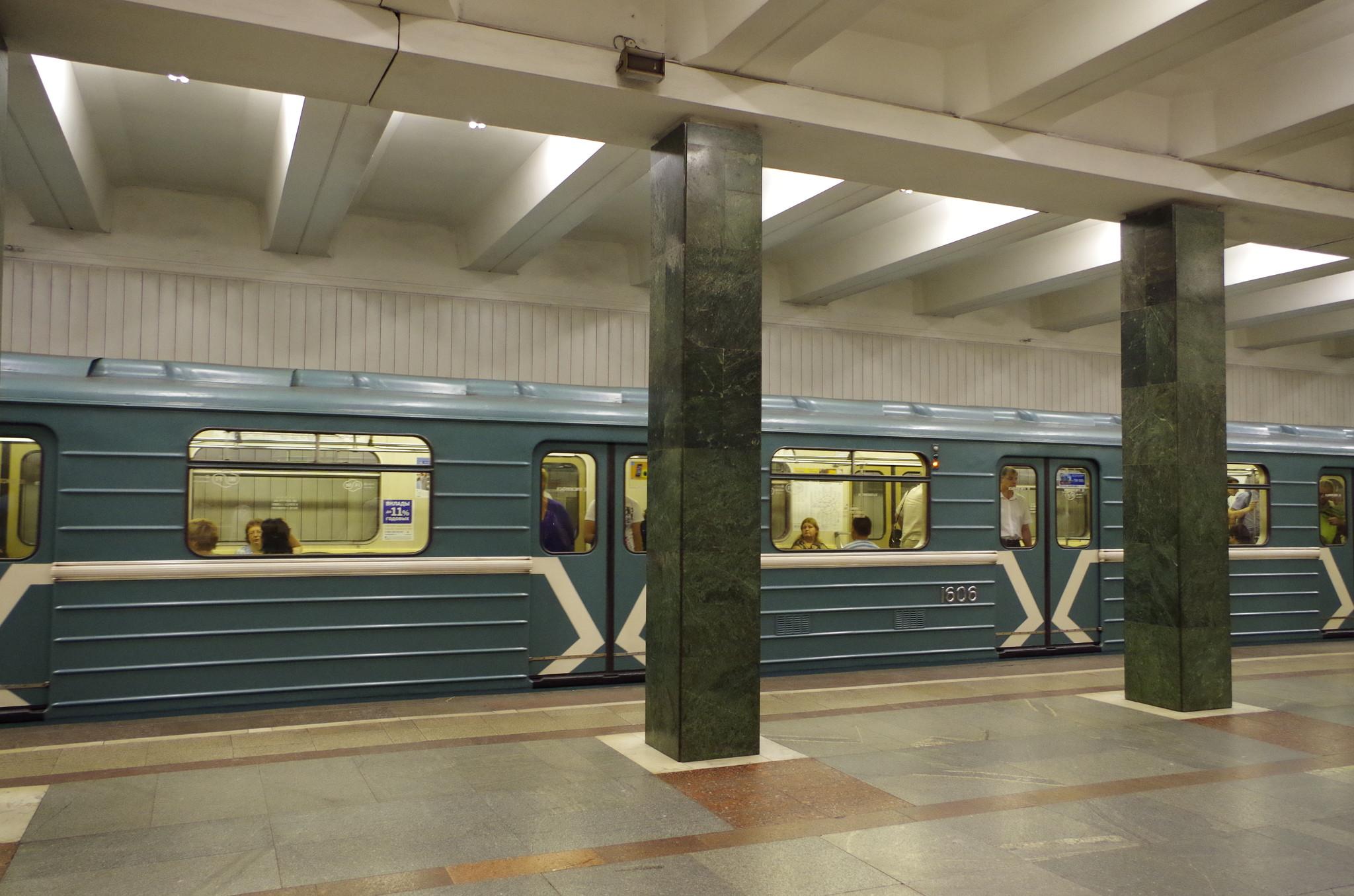 «Преображенская площадь» - станция Сокольнической линии Московского метрополитена