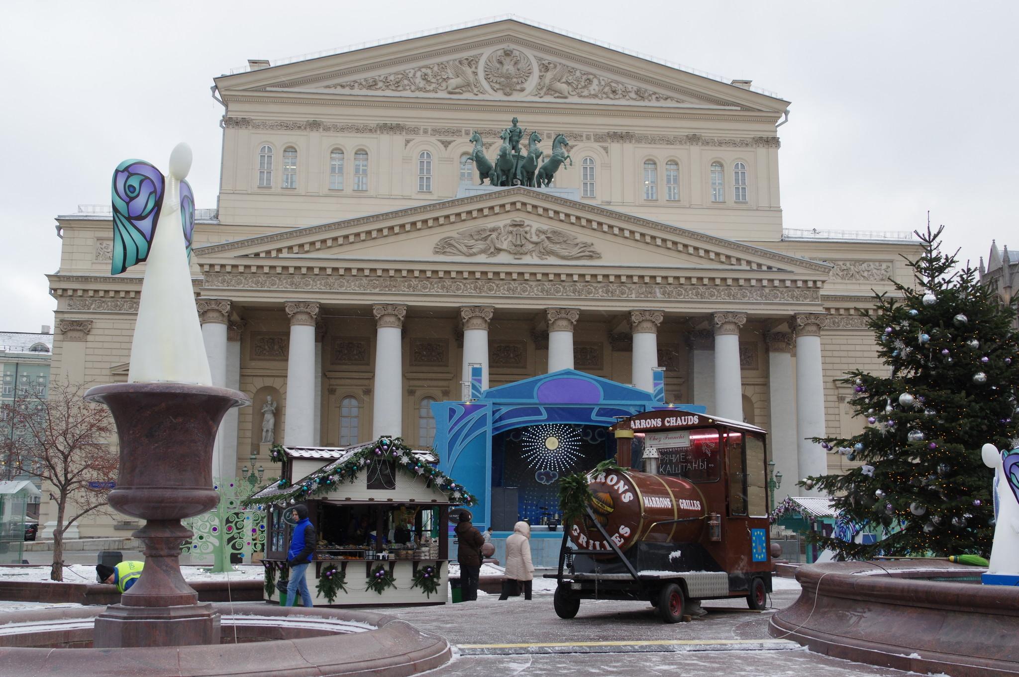 На Театральной площади — ярмарка «Ангелов»