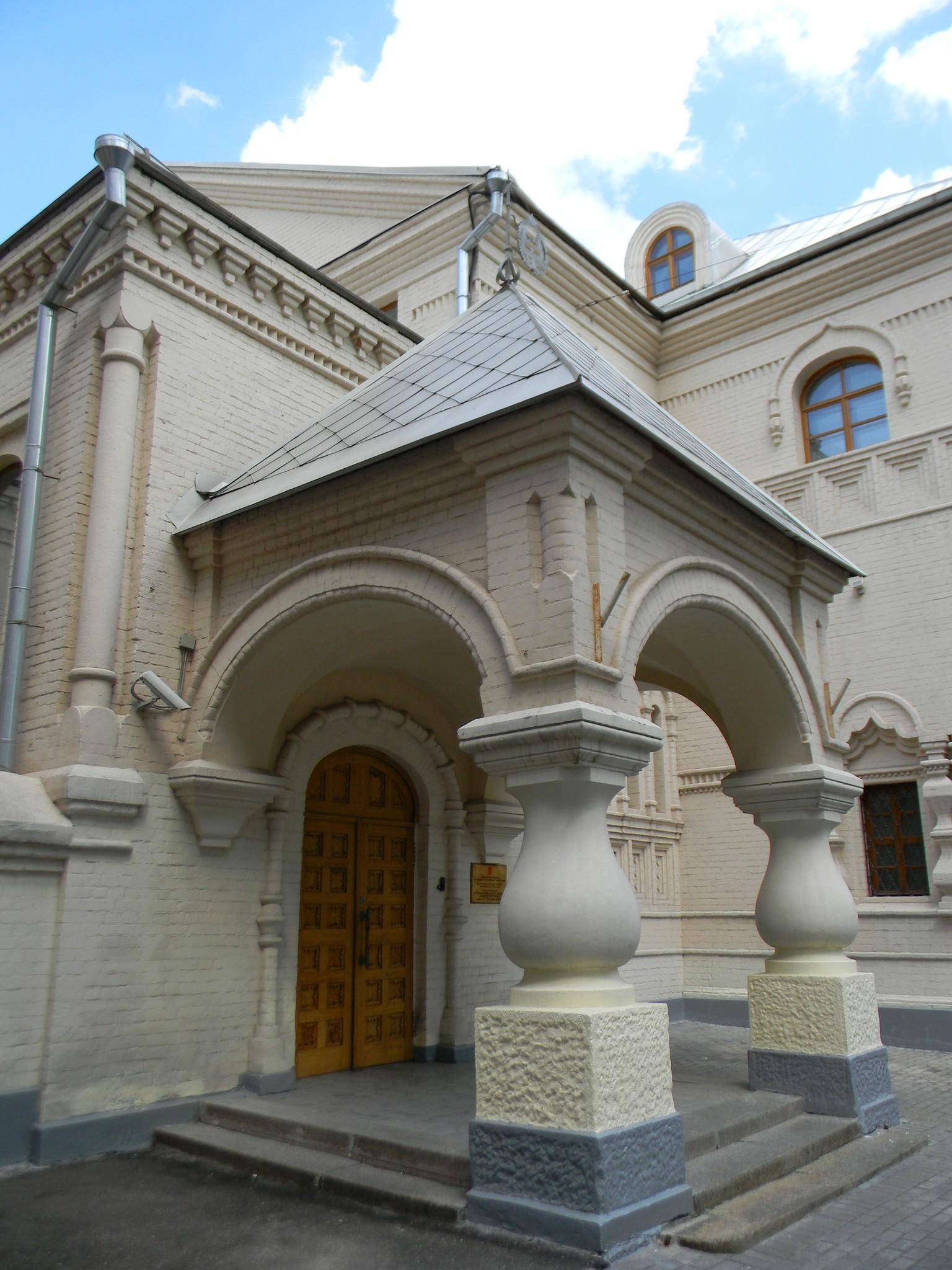 Музей народного искусства (Кустарный музей С. Т. Морозова). Леонтьевский переулок, дом 7