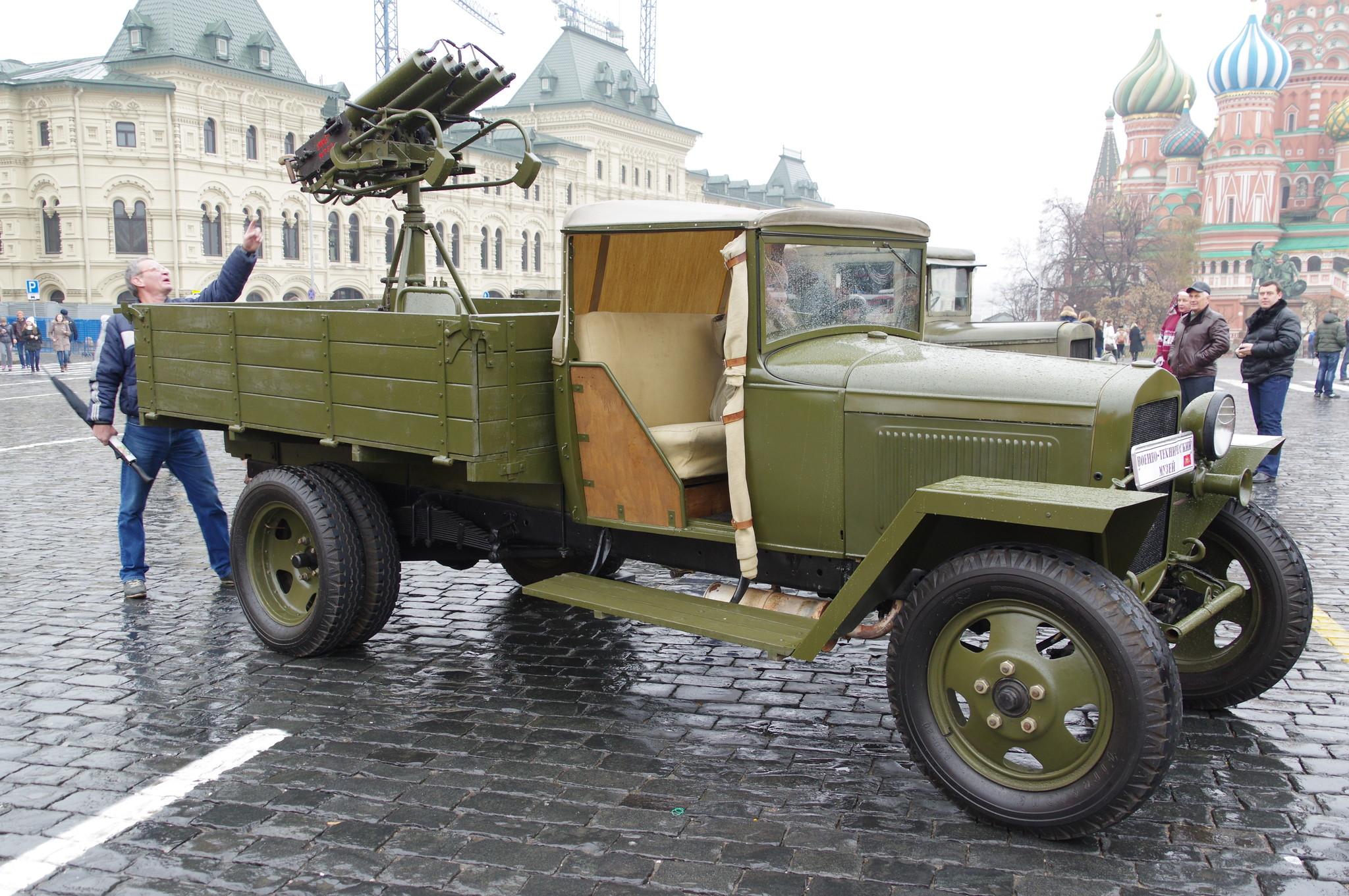 Производство автомобилей в войну
