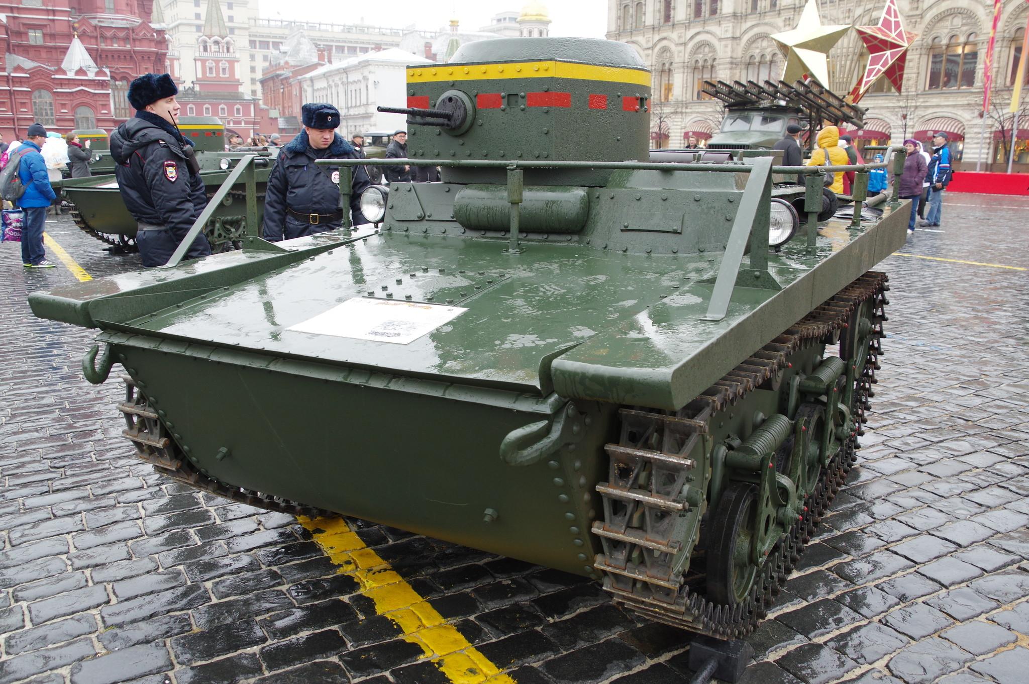 Т-37А — малый плавающий танк