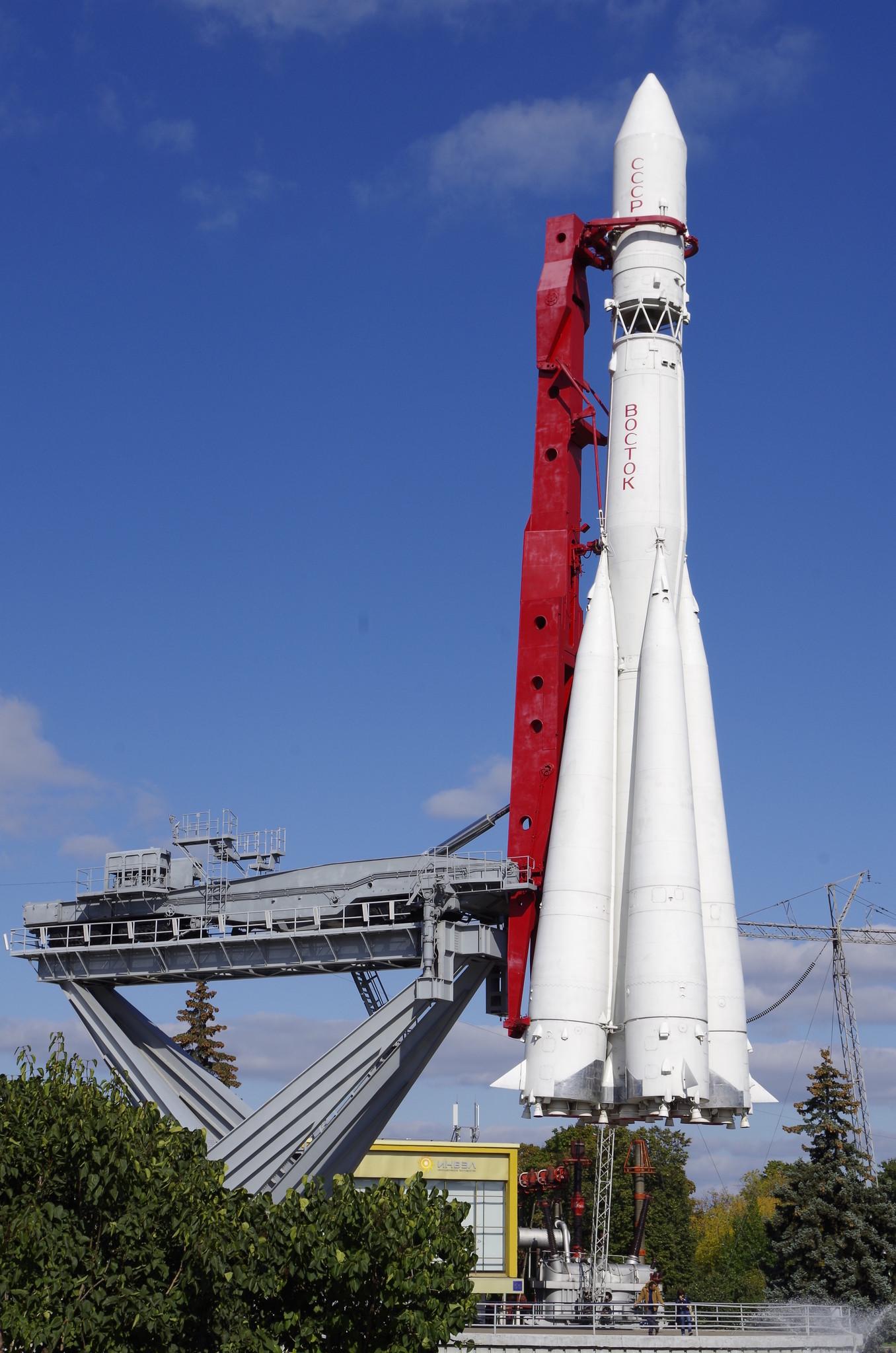 ракета восток гагарина фото
