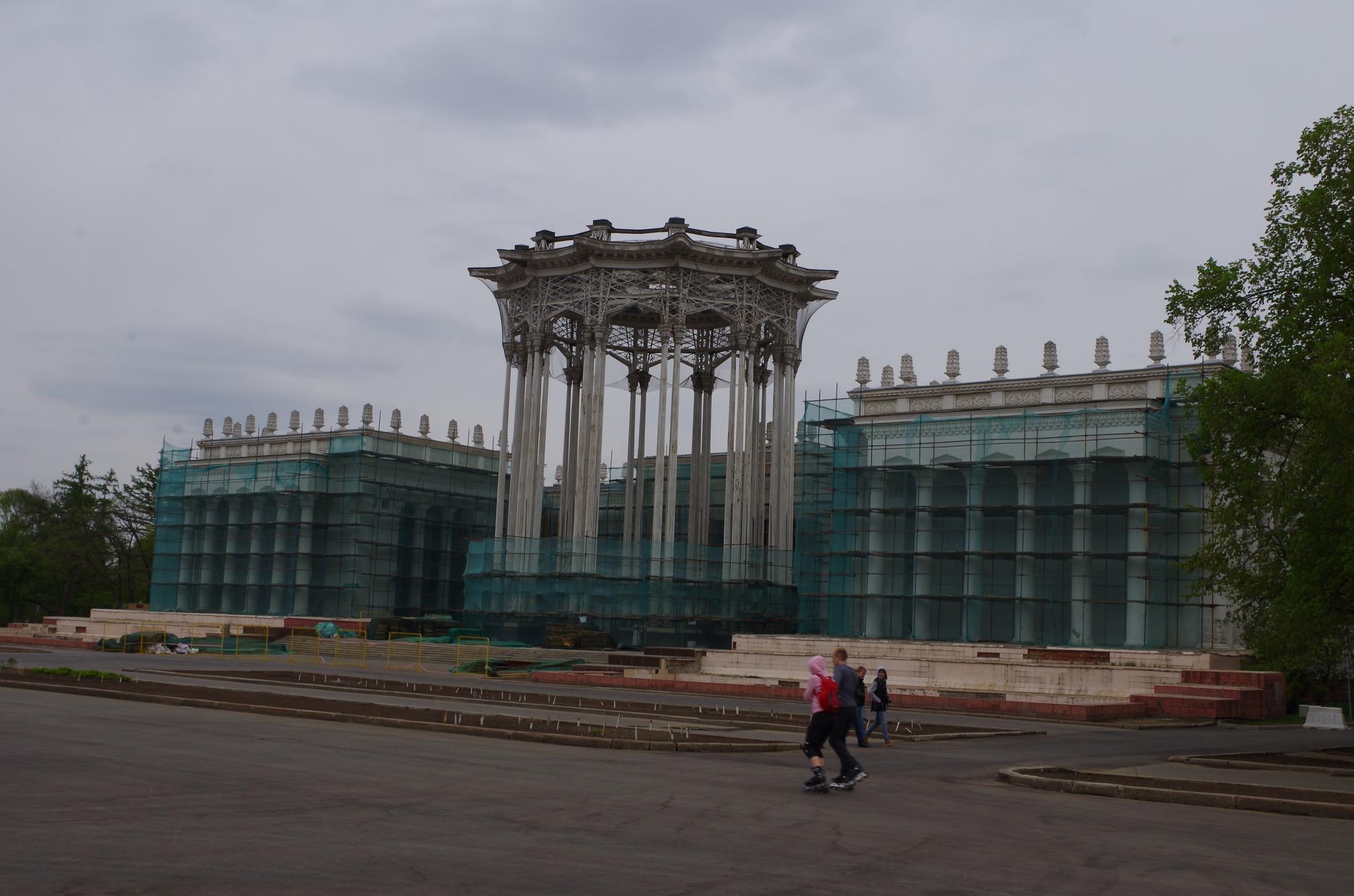 Павильон «Культура» («Узбекская ССР») в 4 мая 2014 года