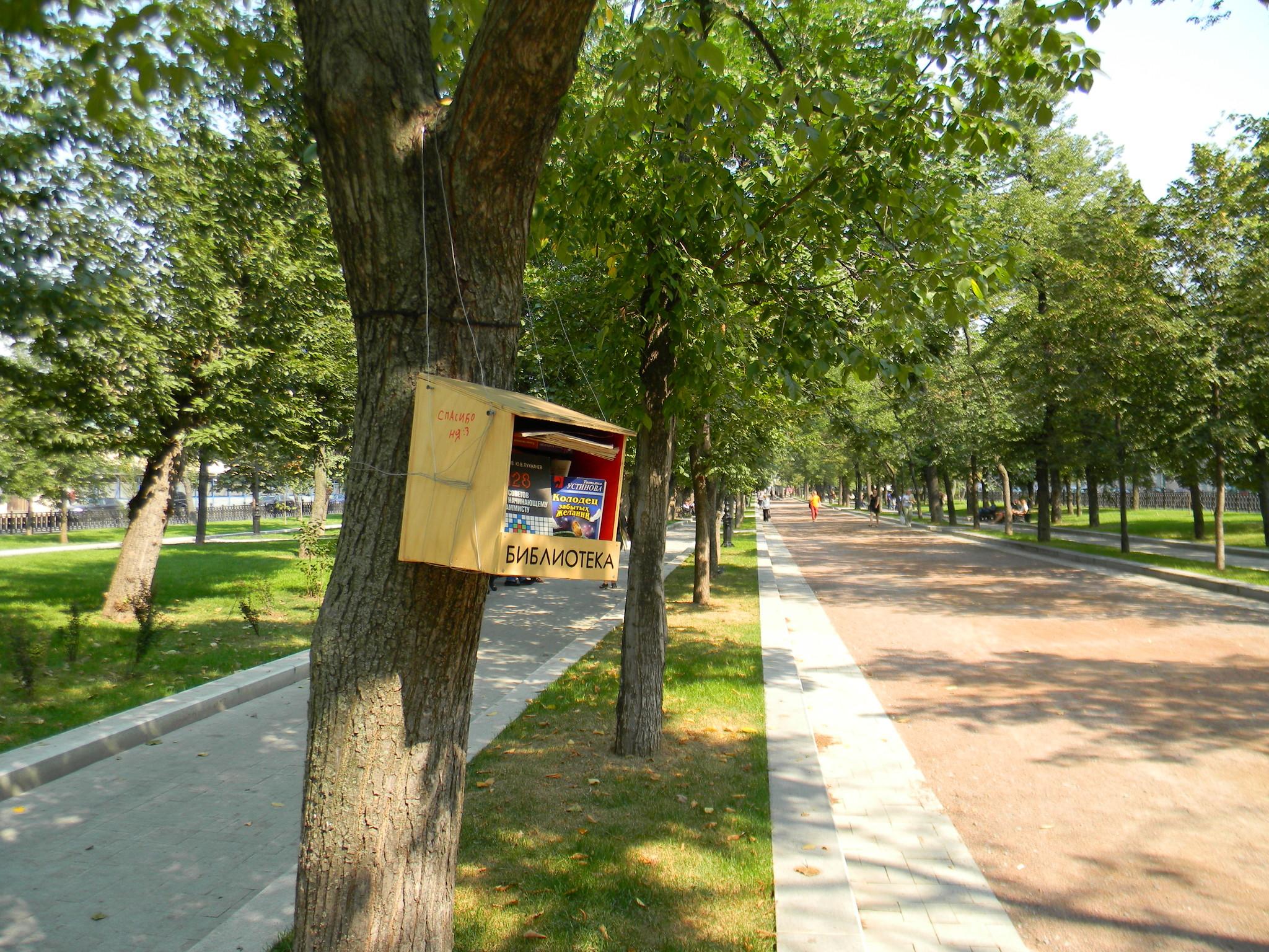 Библиотека на Тверском бульваре