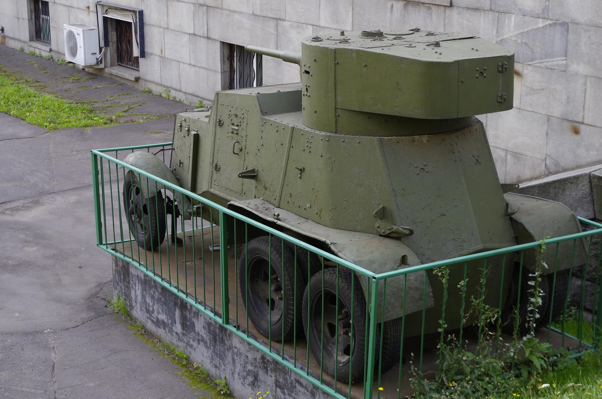 Бронеавтомобиль БА-6 (Центральный музей Вооруженных Сил)