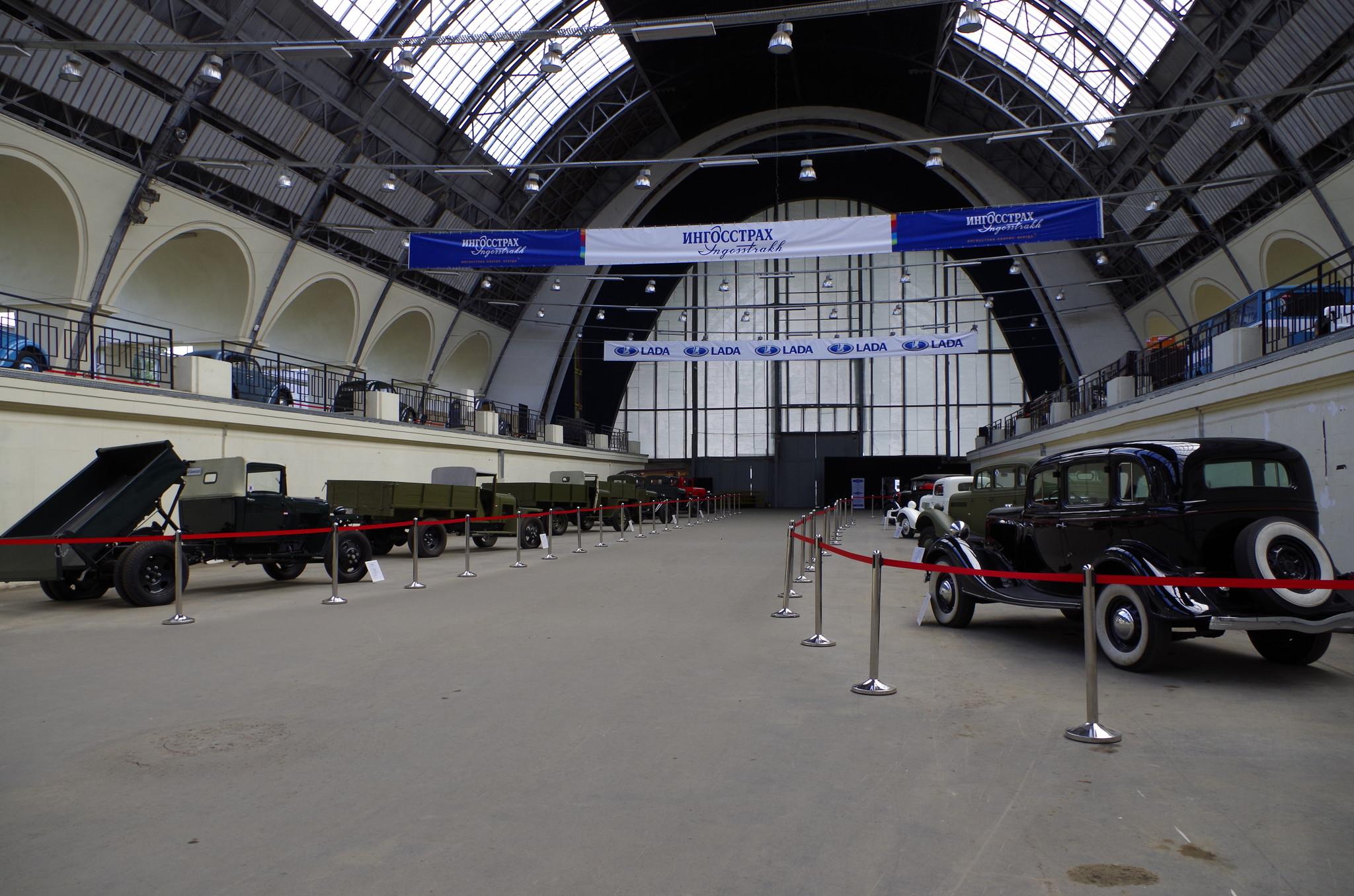 Выставка «Автомобильная промышленность», посвящённая 90-летию отечественного автомопрома и 75-летию ВДНХ