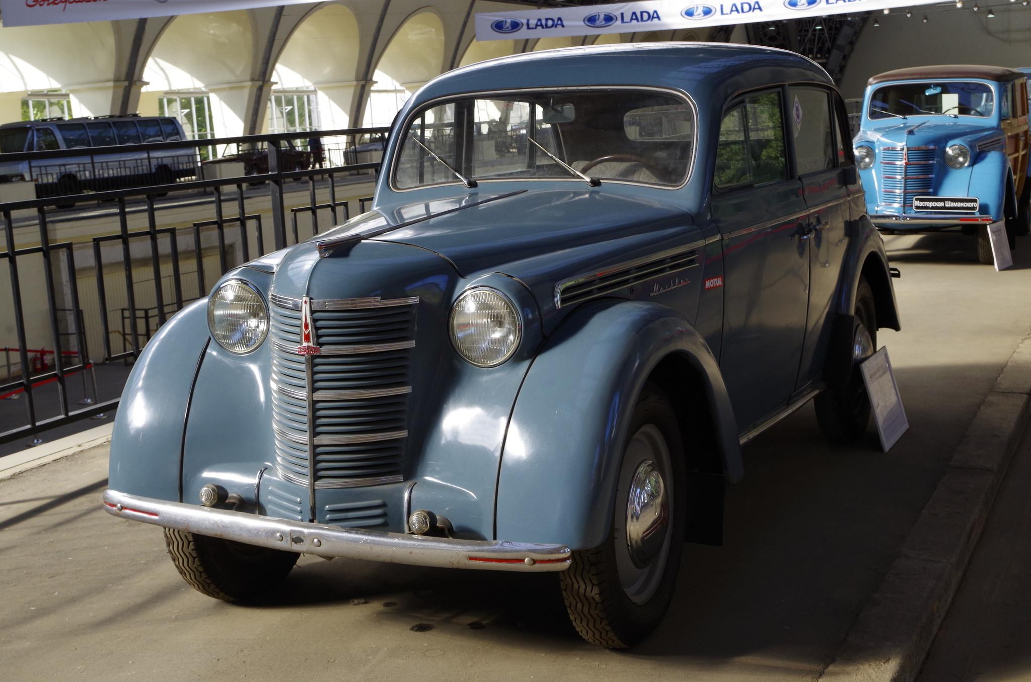 Легковой автомобиль «Москвич-400»